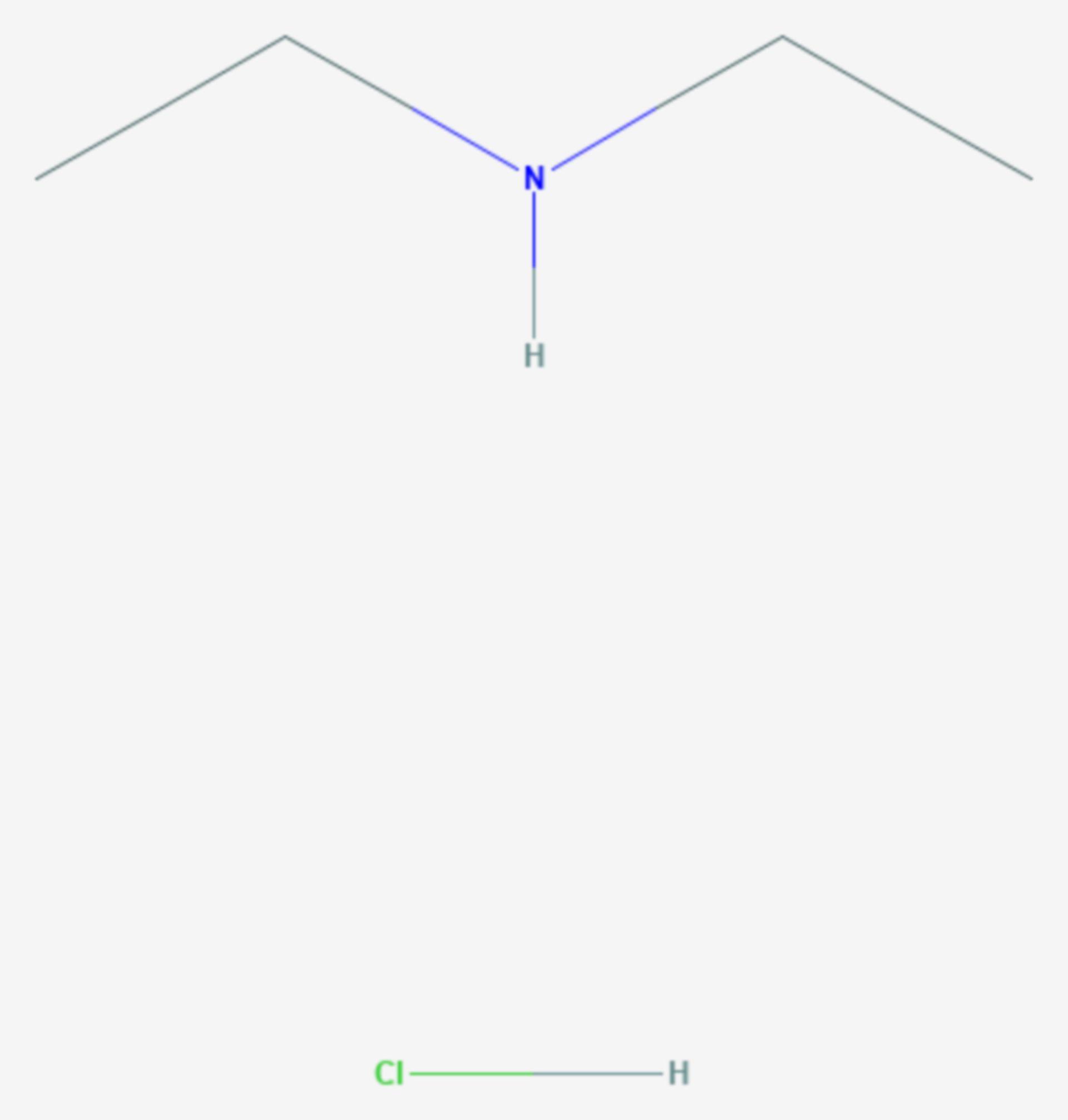 Diethylammoniumchlorid (Strukturformel)
