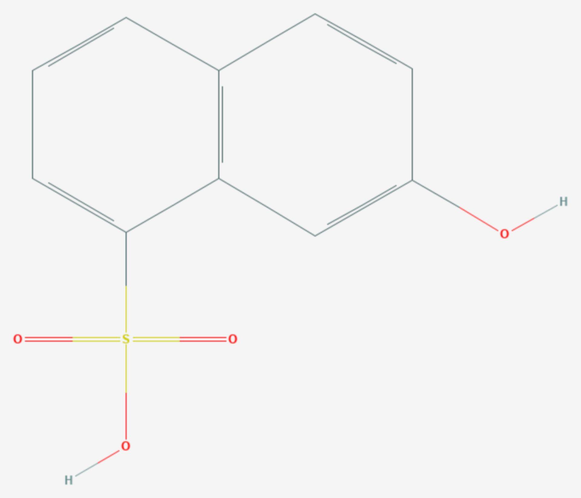 Croceinsäure (Strukturformel)