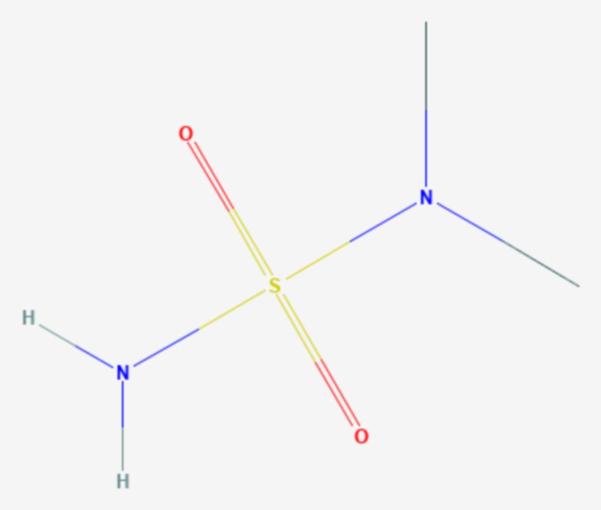 Dimethylsulfamid (Strukturformel)