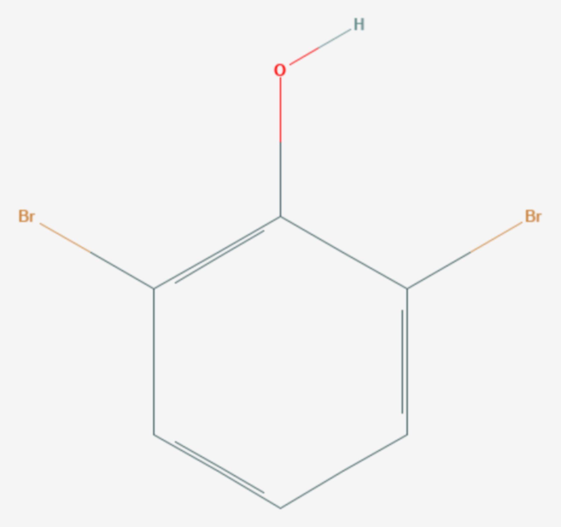 2,6-Dibromphenol (Strukturformel)
