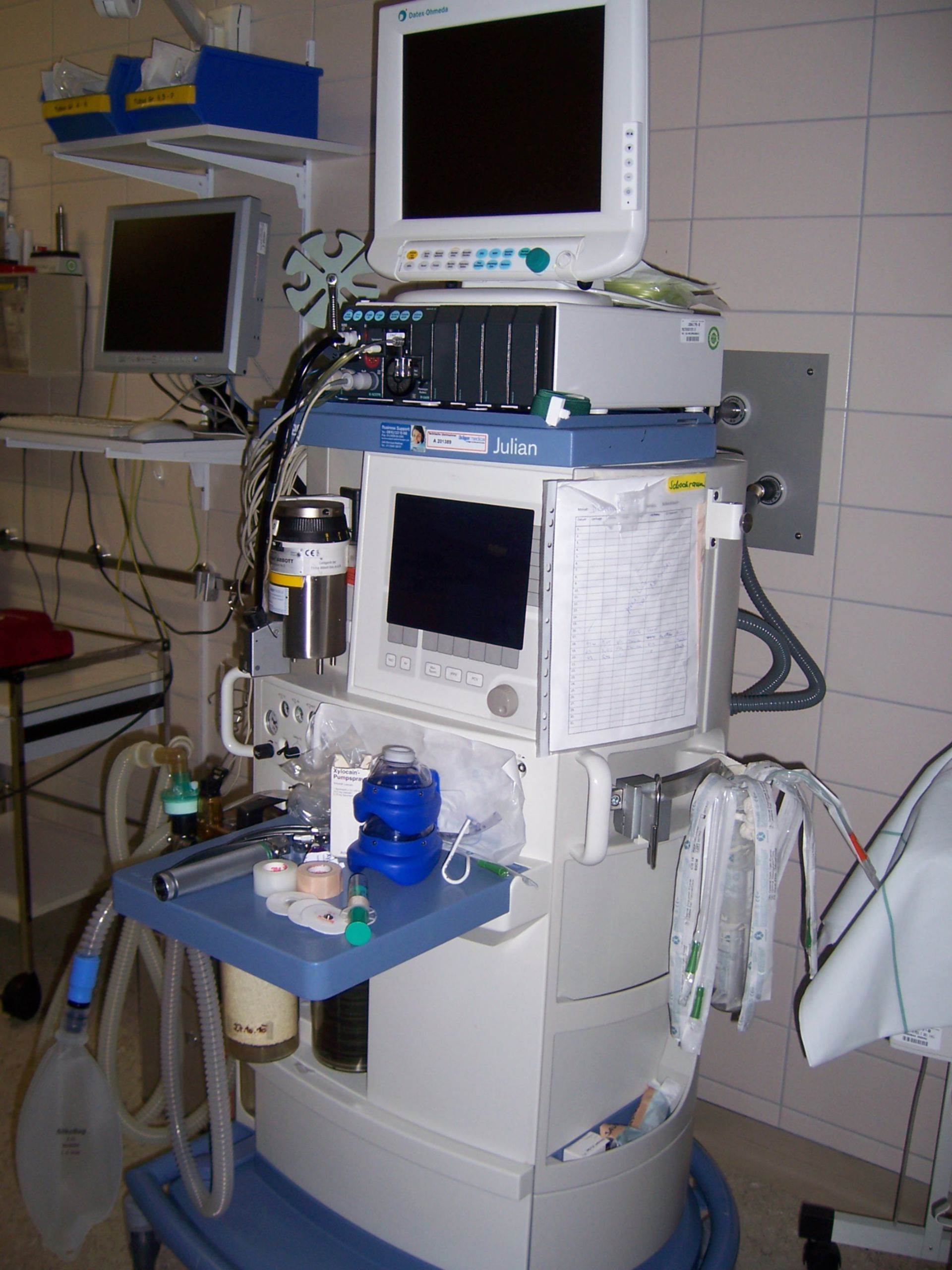 Anaesthesia device 1