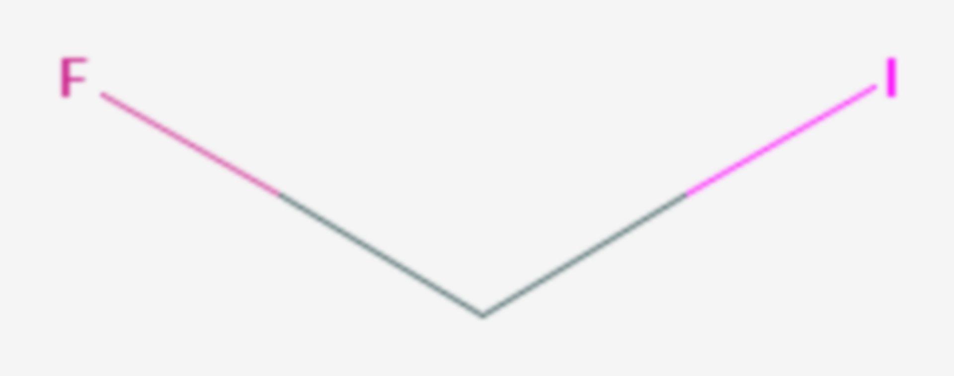 Fluoriodmethan (Strukturformel)