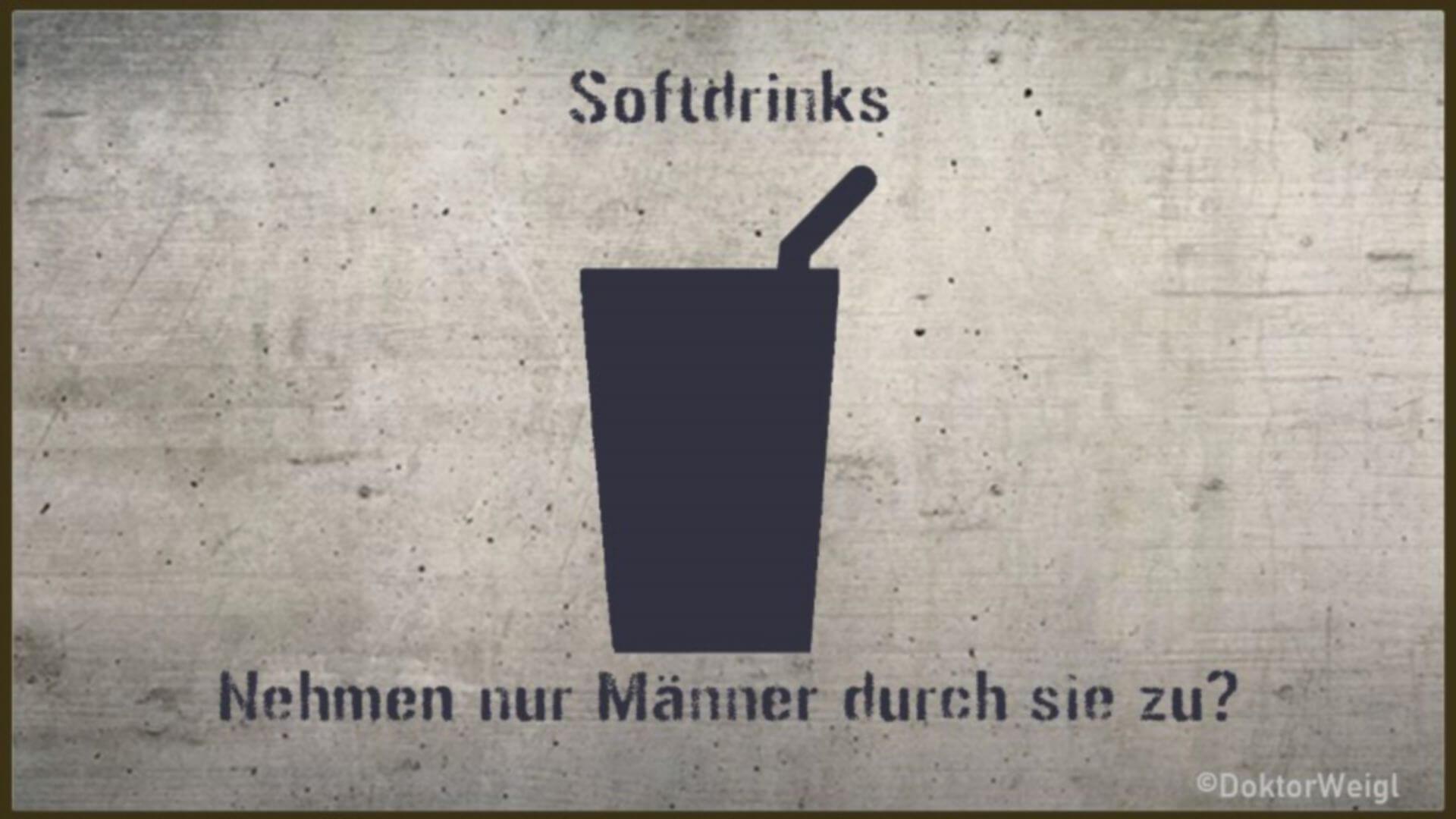 Softdrinks im Check – Macht Cola nur Männer dick?