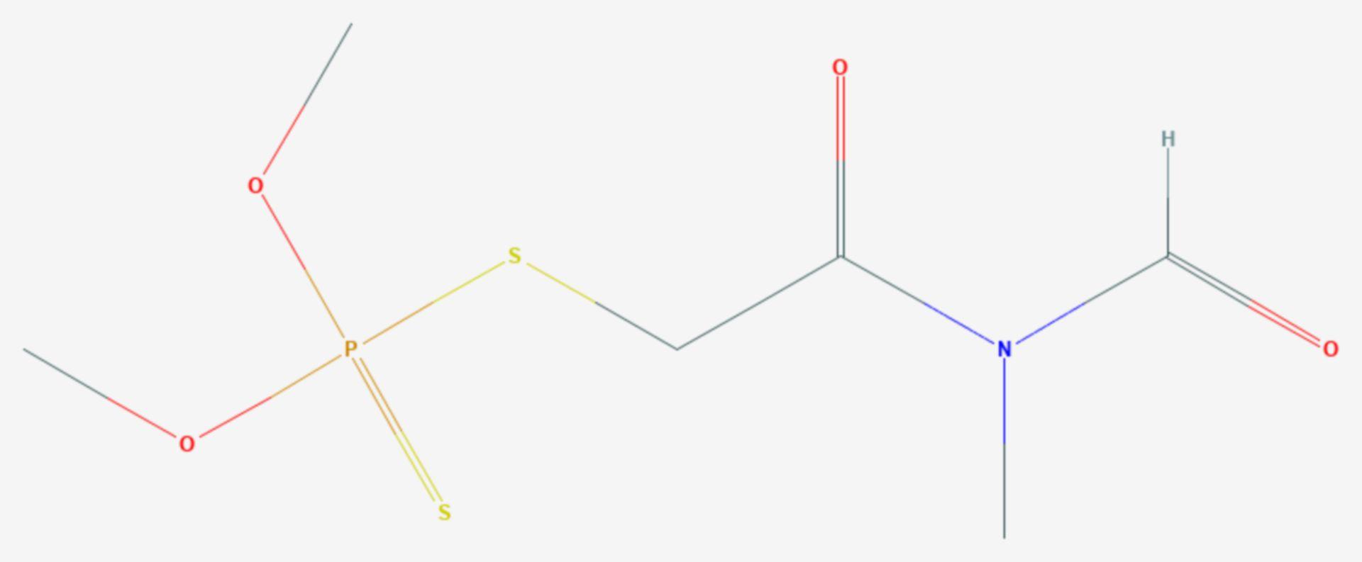 Formothion (Strukturformel)