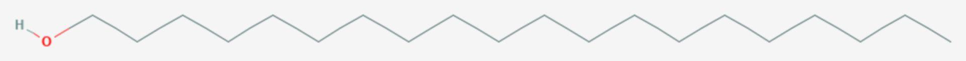 1-Eicosanol (Strukturformel)