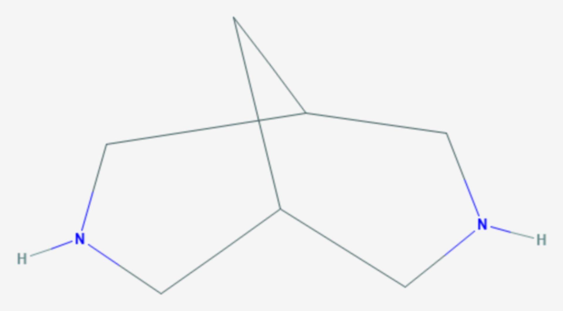 Bispidin (Strukturformel)