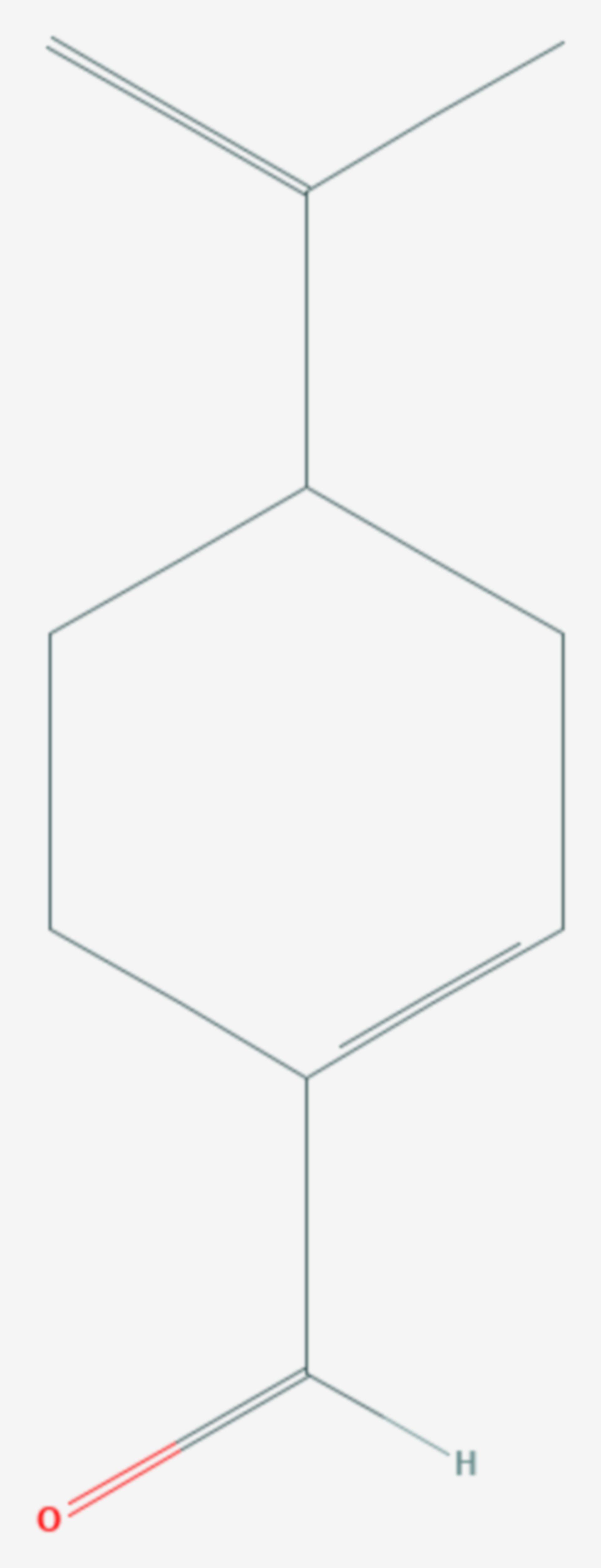 Perillaaldehyd (Strukturformel)