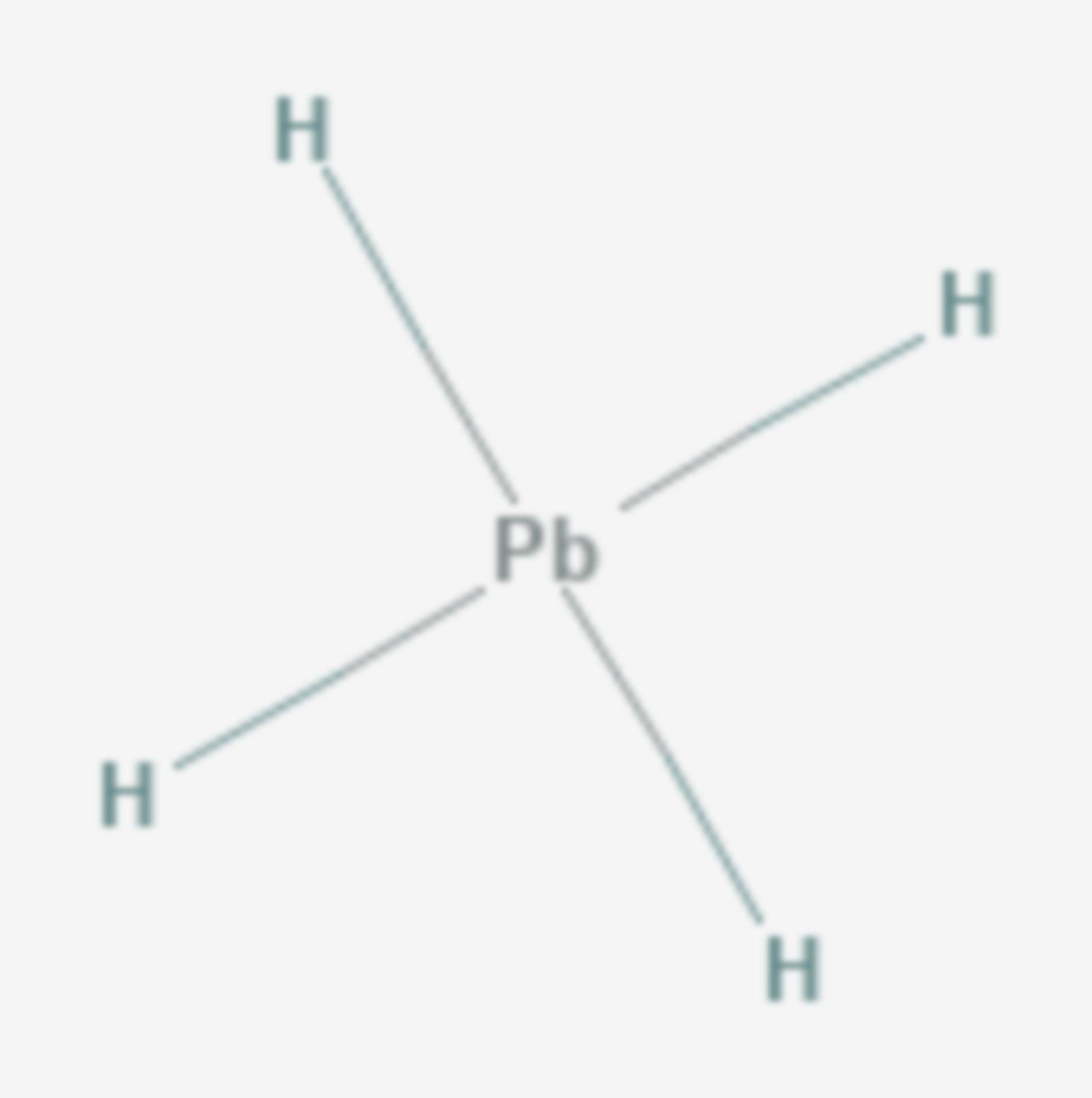 Plumban (Strukturformel)