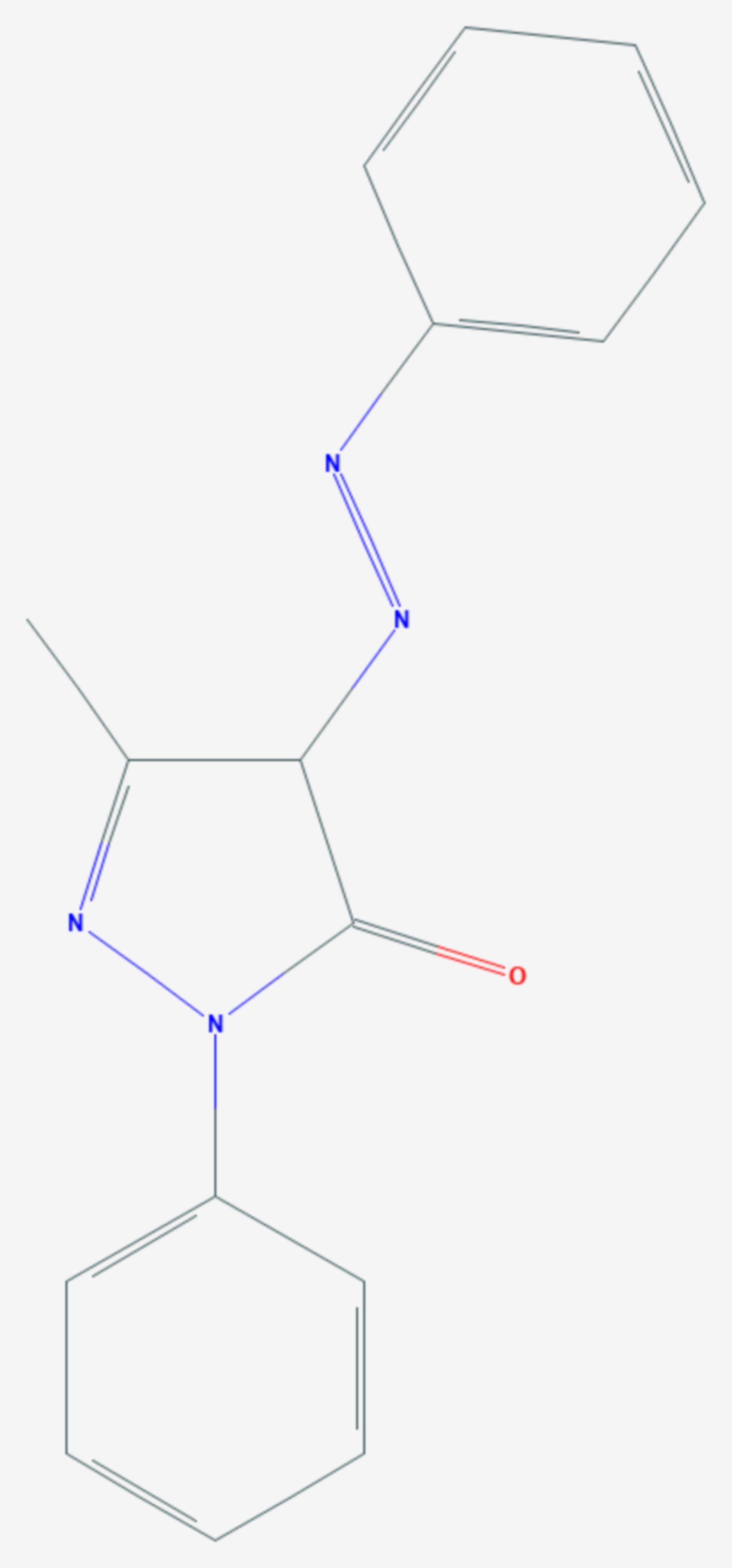 Sudangelb G (Strukturformel)