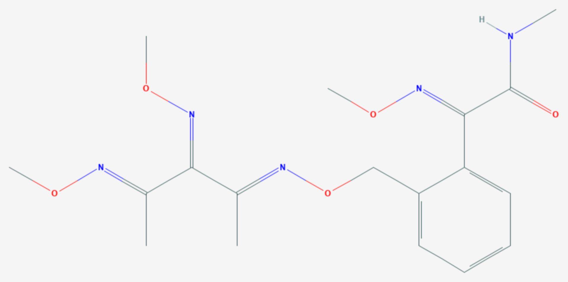 Orysastrobin (Strukturformel)
