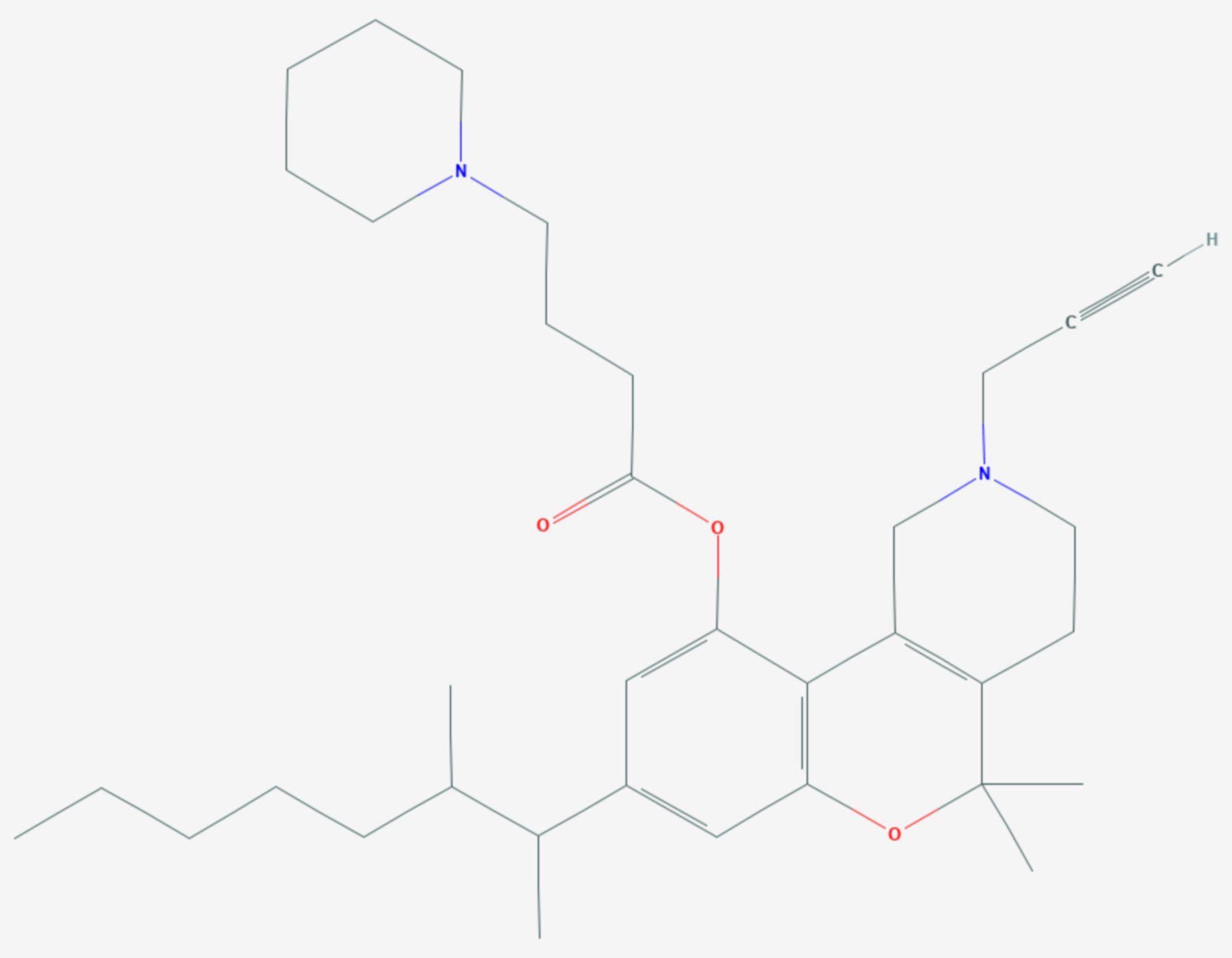 Nabitan (Strukturformel)