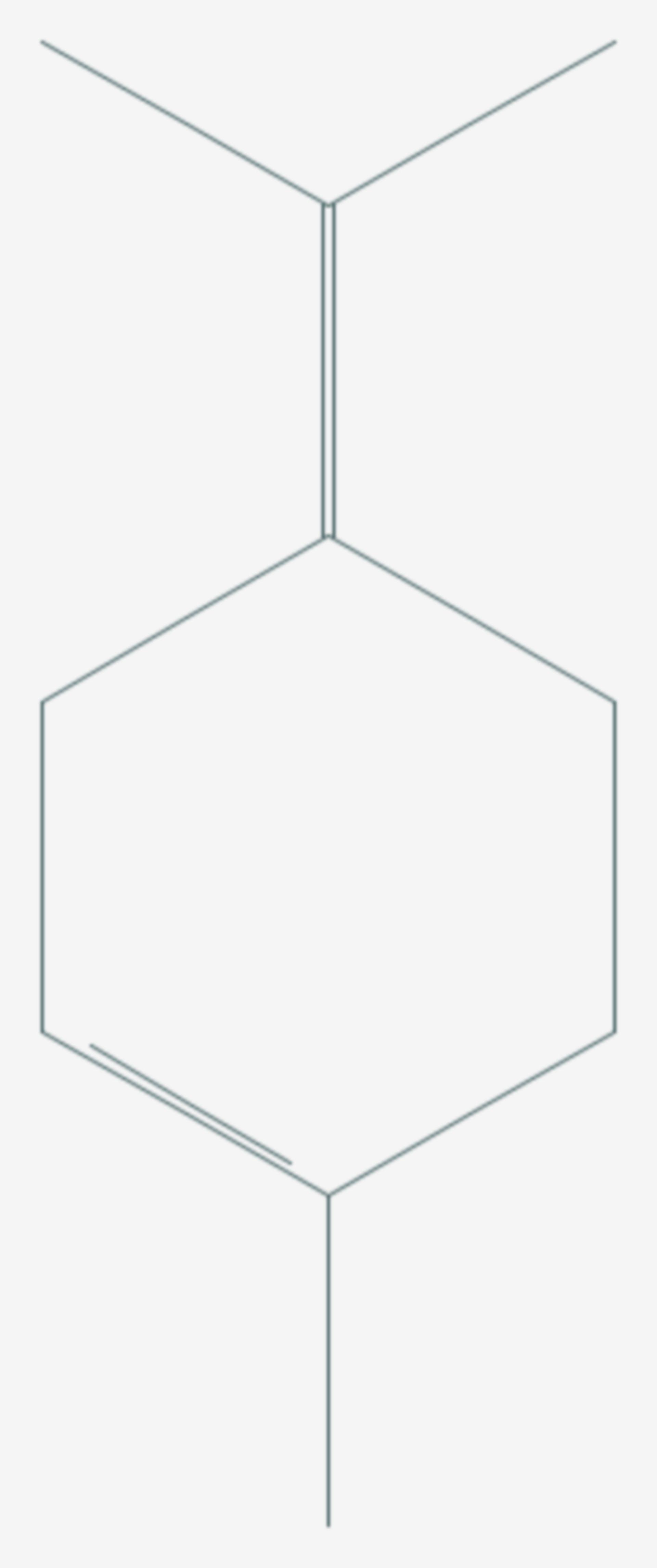 Terpinolen (Strukturformel)