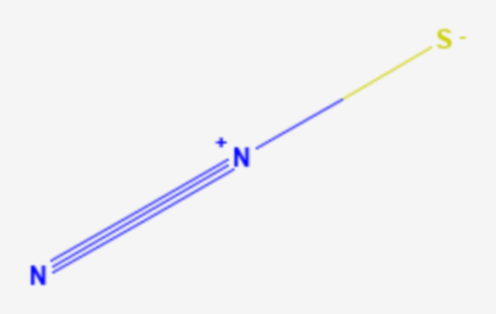 Monoschwefeldinitrid (Strukturformel)