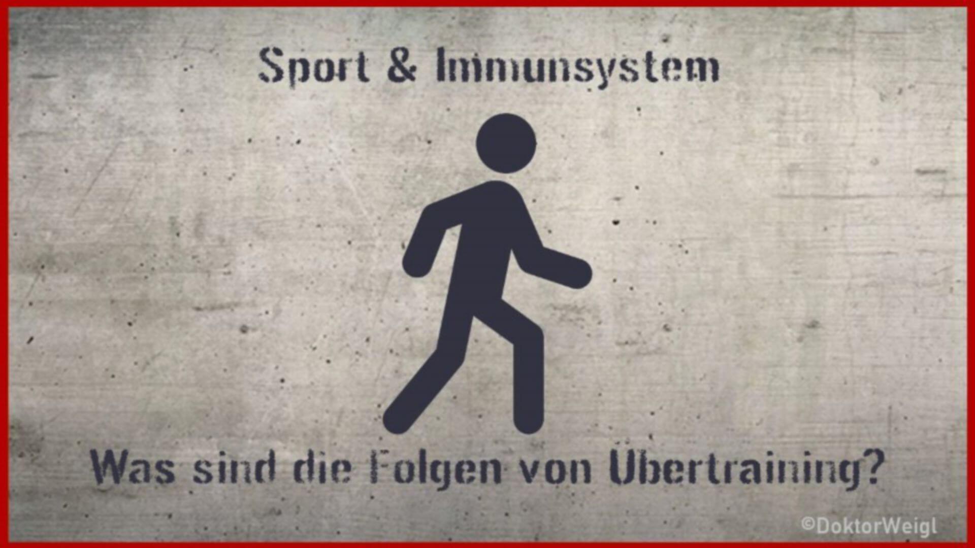 Sport stärkt das Immunsystem – doch das sind Folgen von Übertraining