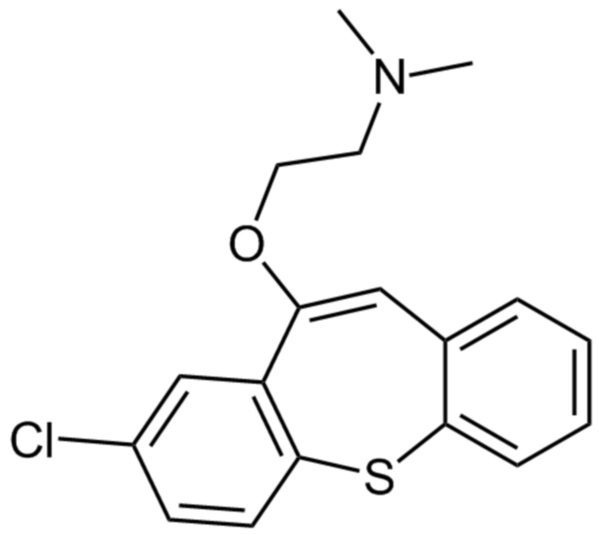 Zotepine Strukturformel