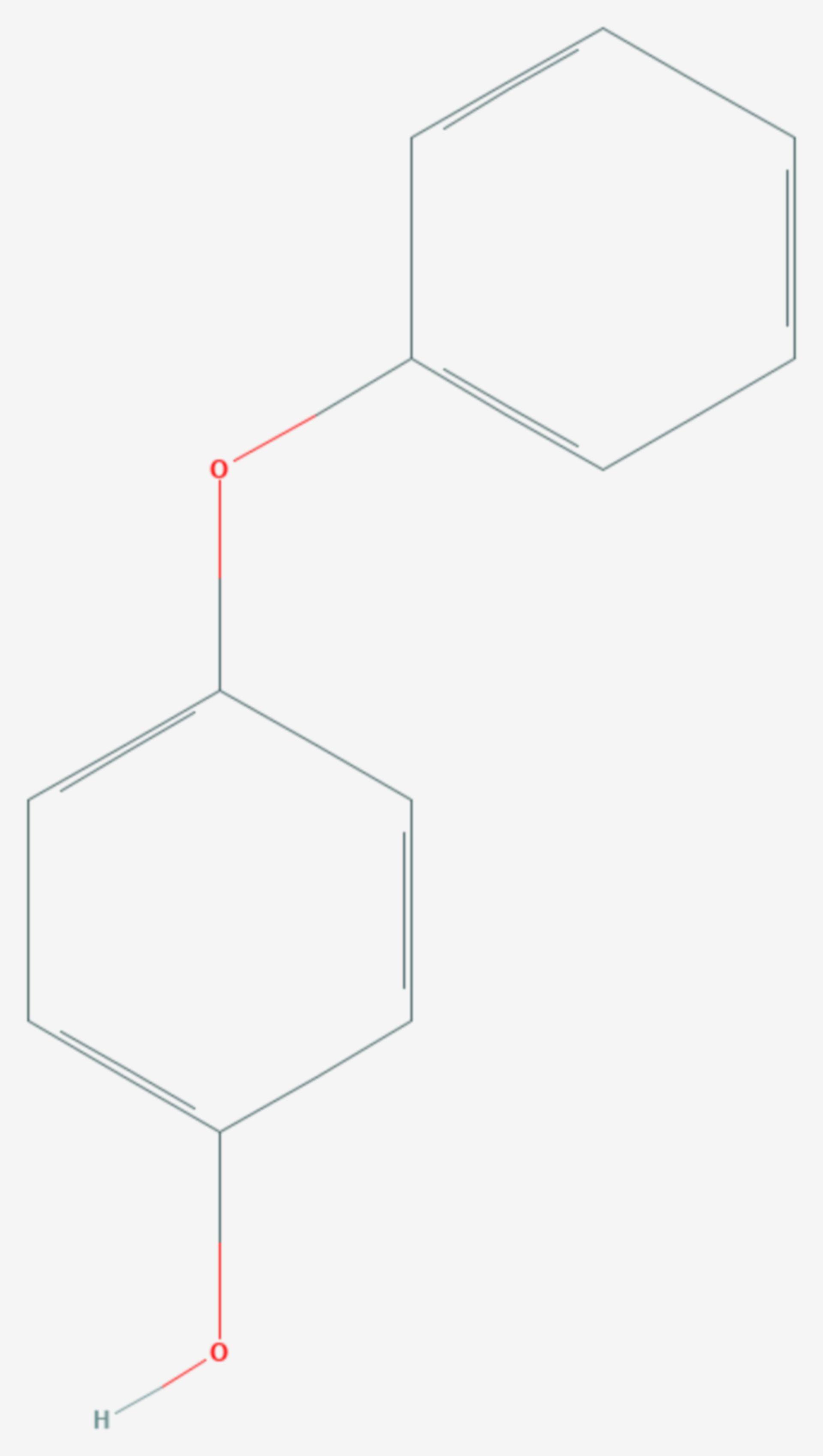 4-Phenoxyphenol (Strukturformel)