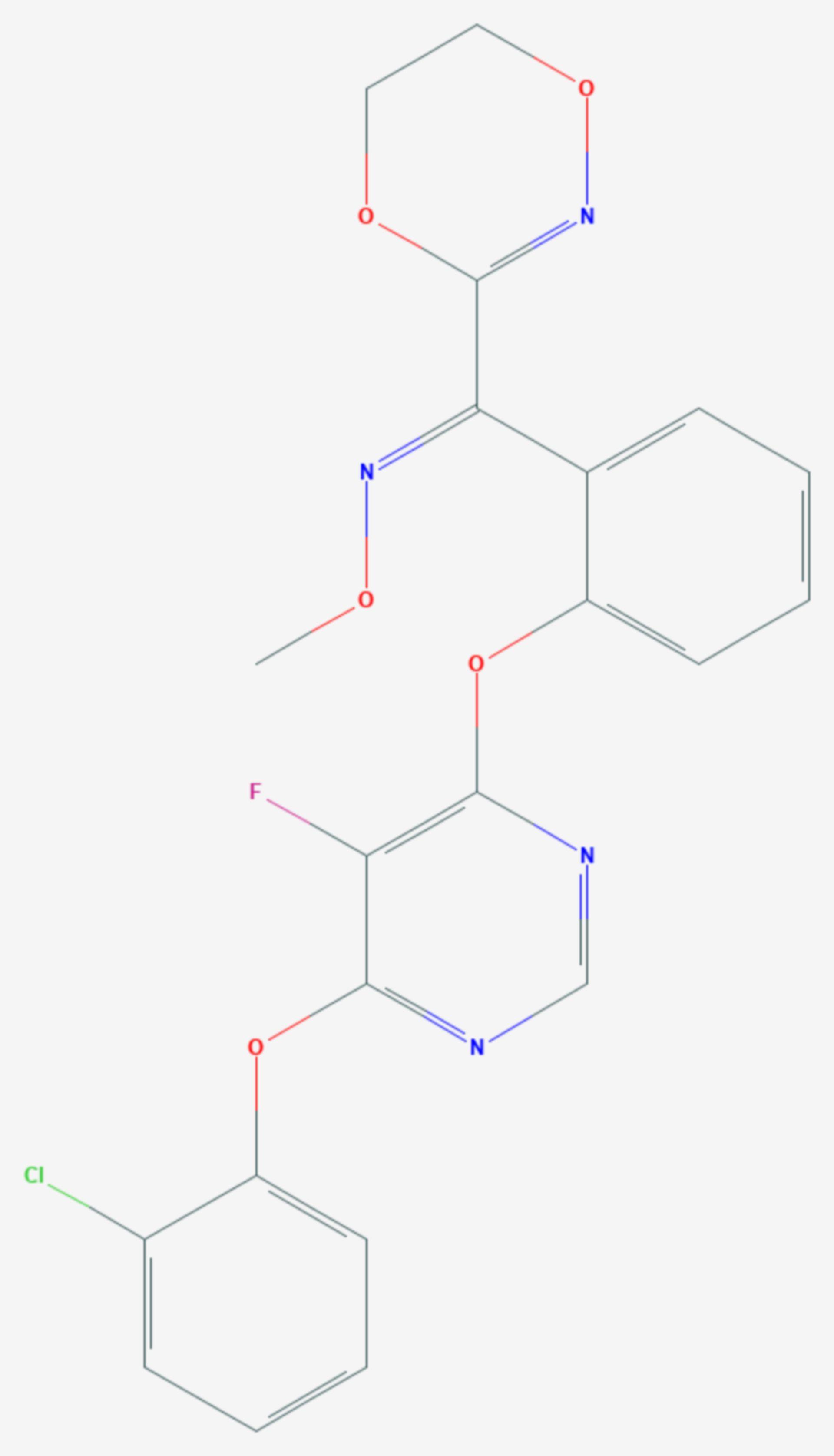 Fluoxastrobin (Strukturformel)