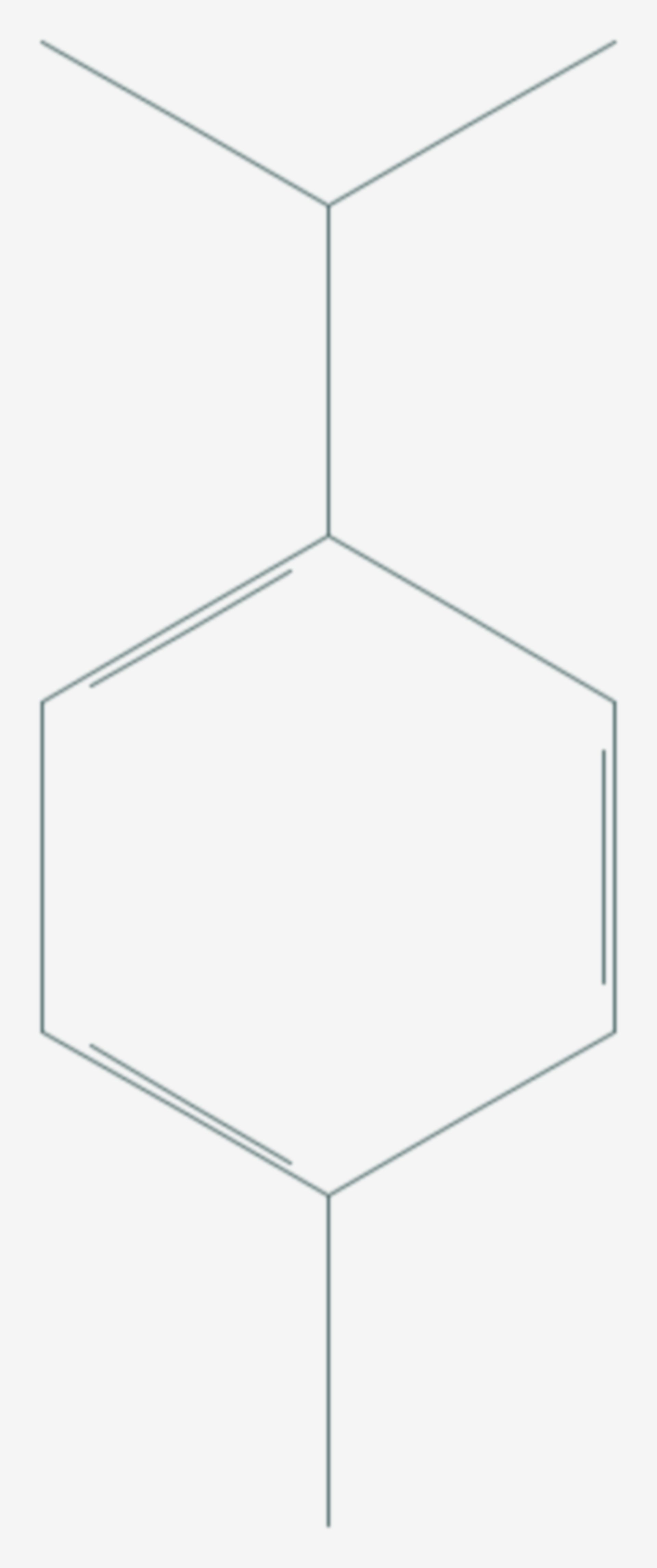 P-Cymol (Strukturformel)