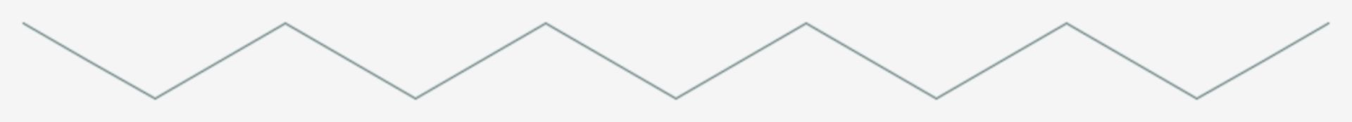 N-Undecan (Strukturformel)