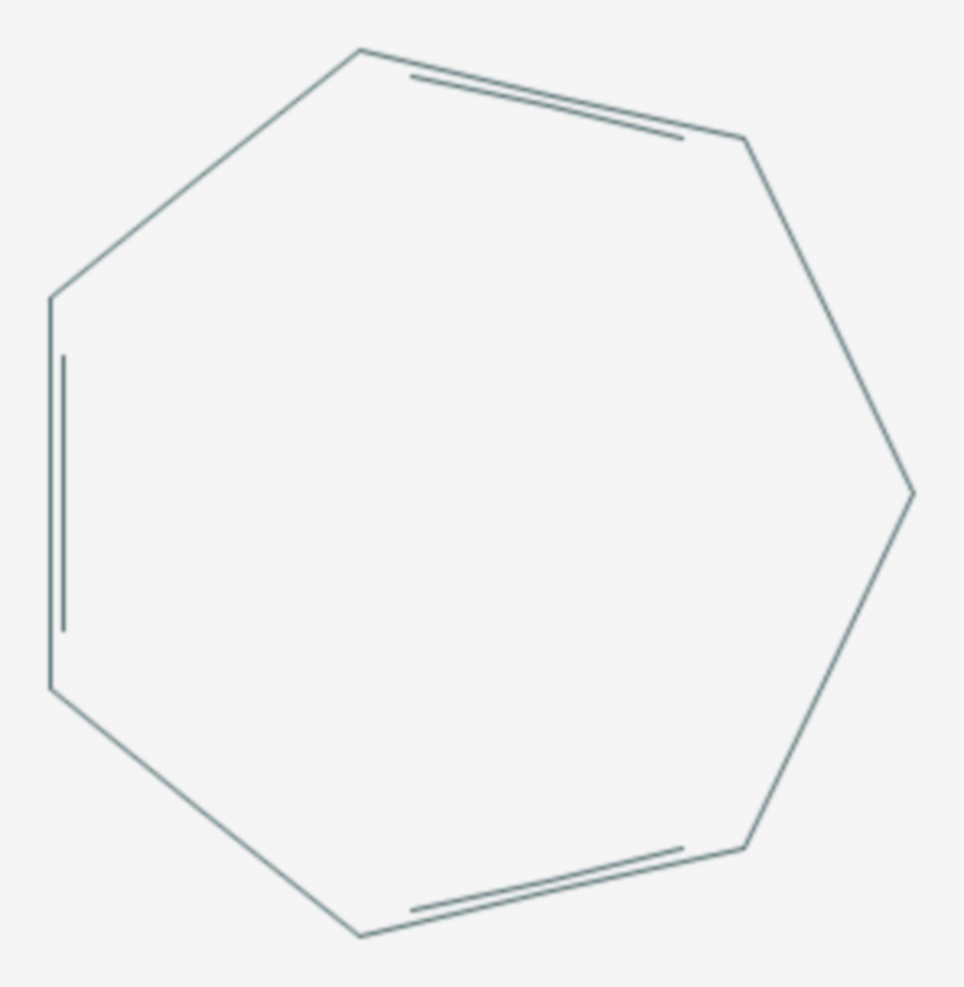 Cycloheptatrien (Strukturformel)