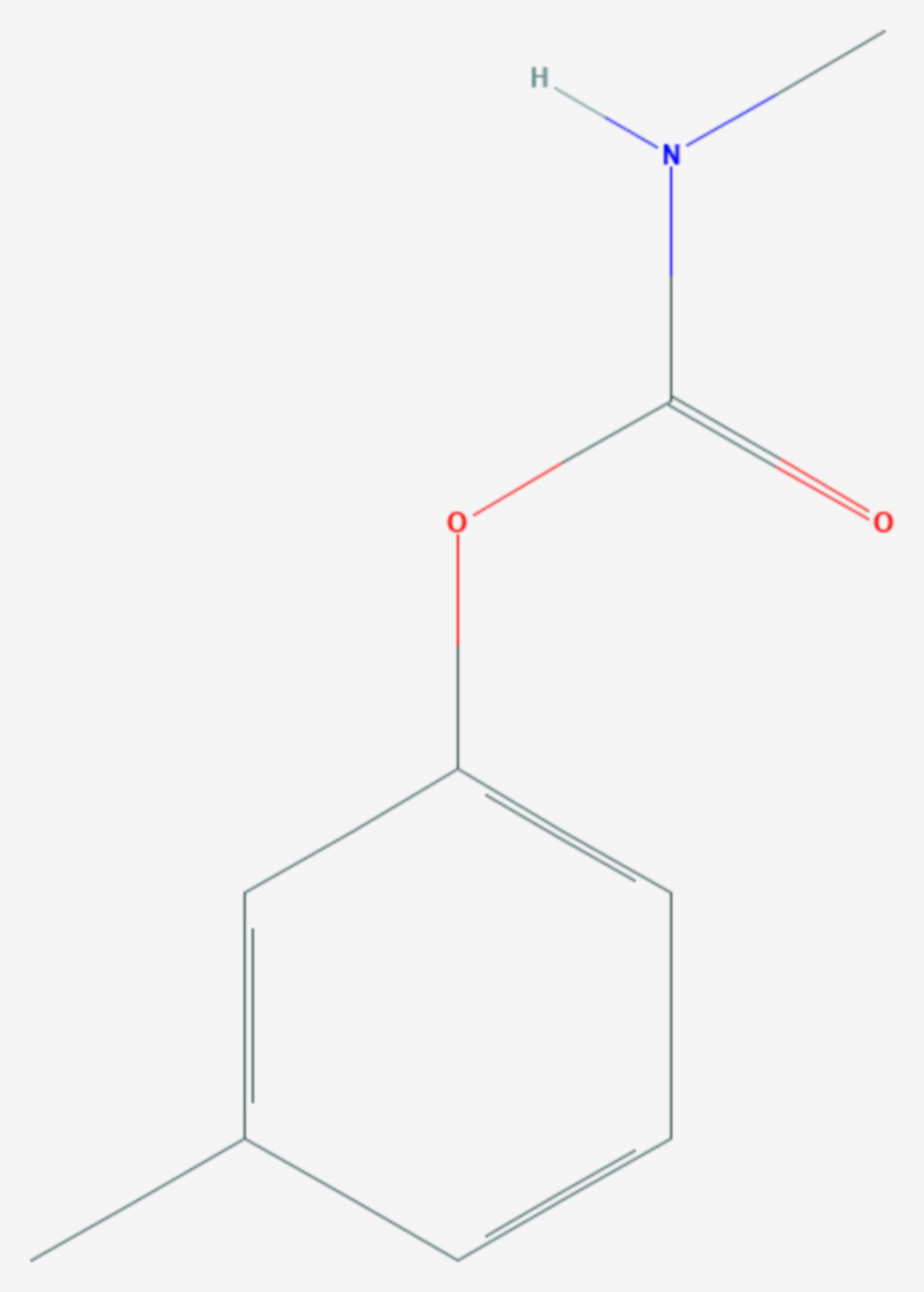Metolcarb (Strukturformel)