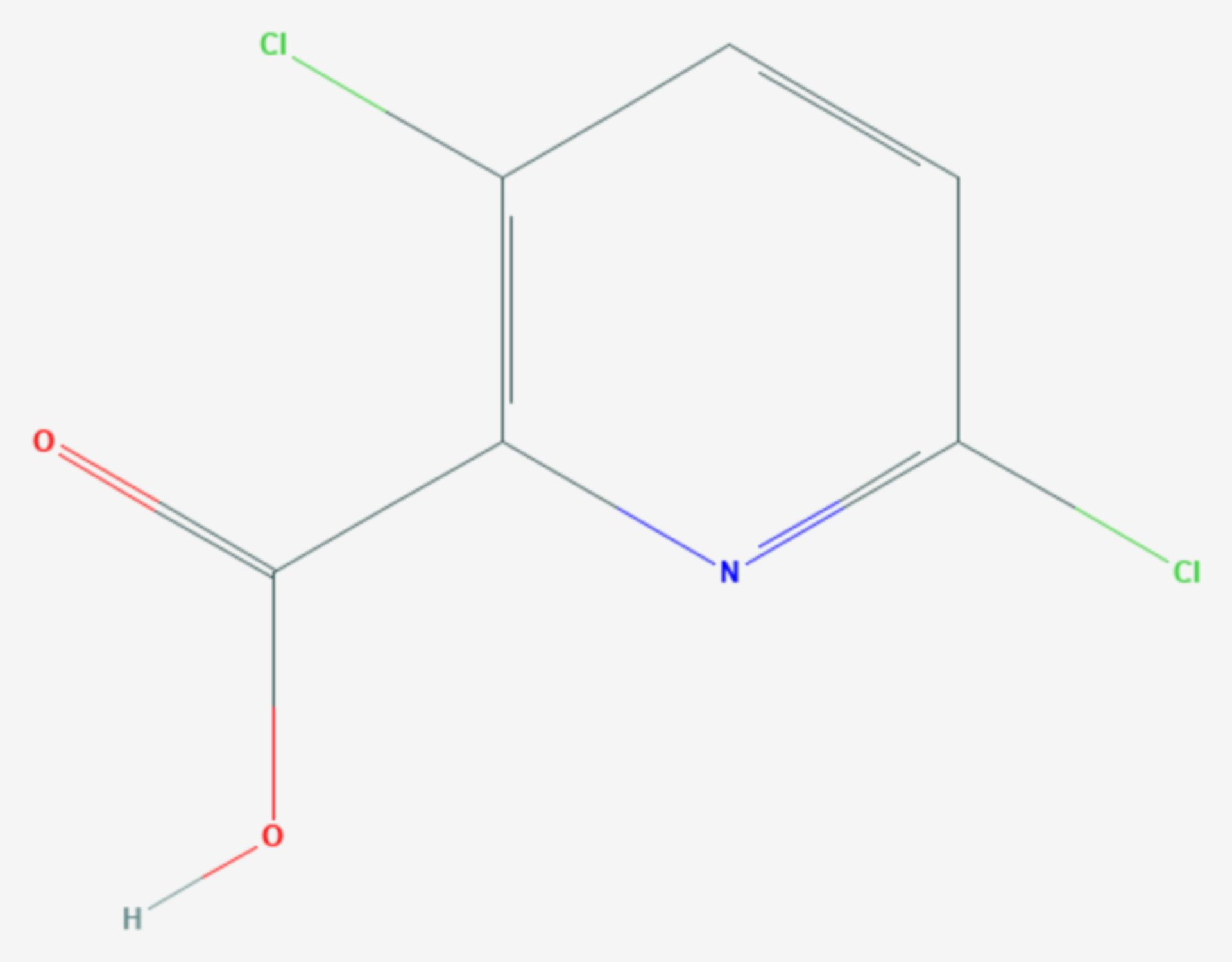 Clopyralid (Strukturformel)