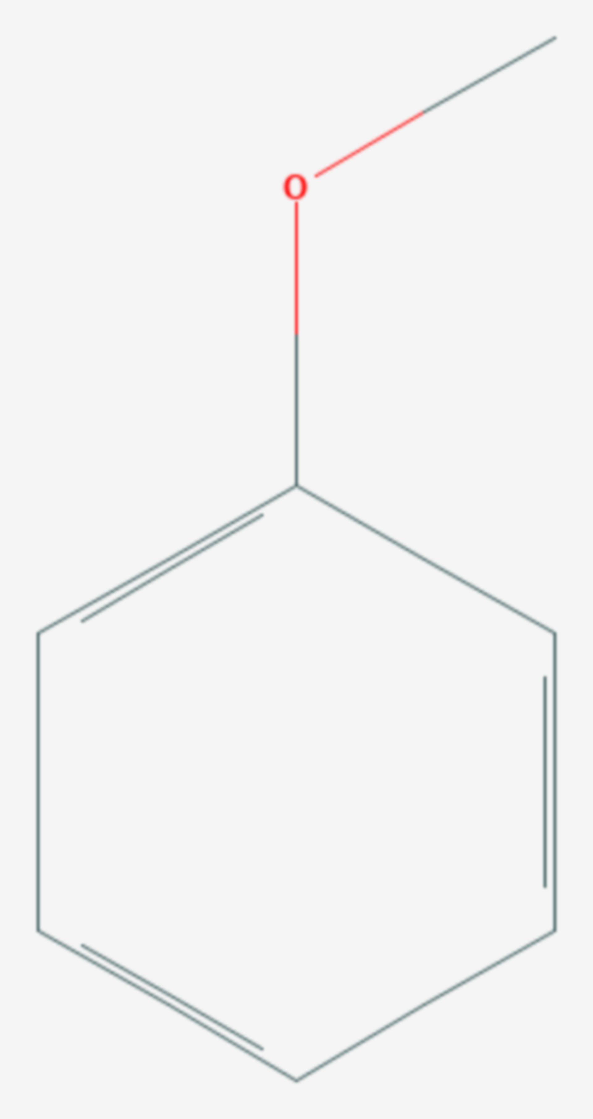 Anisol (Strukturformel)