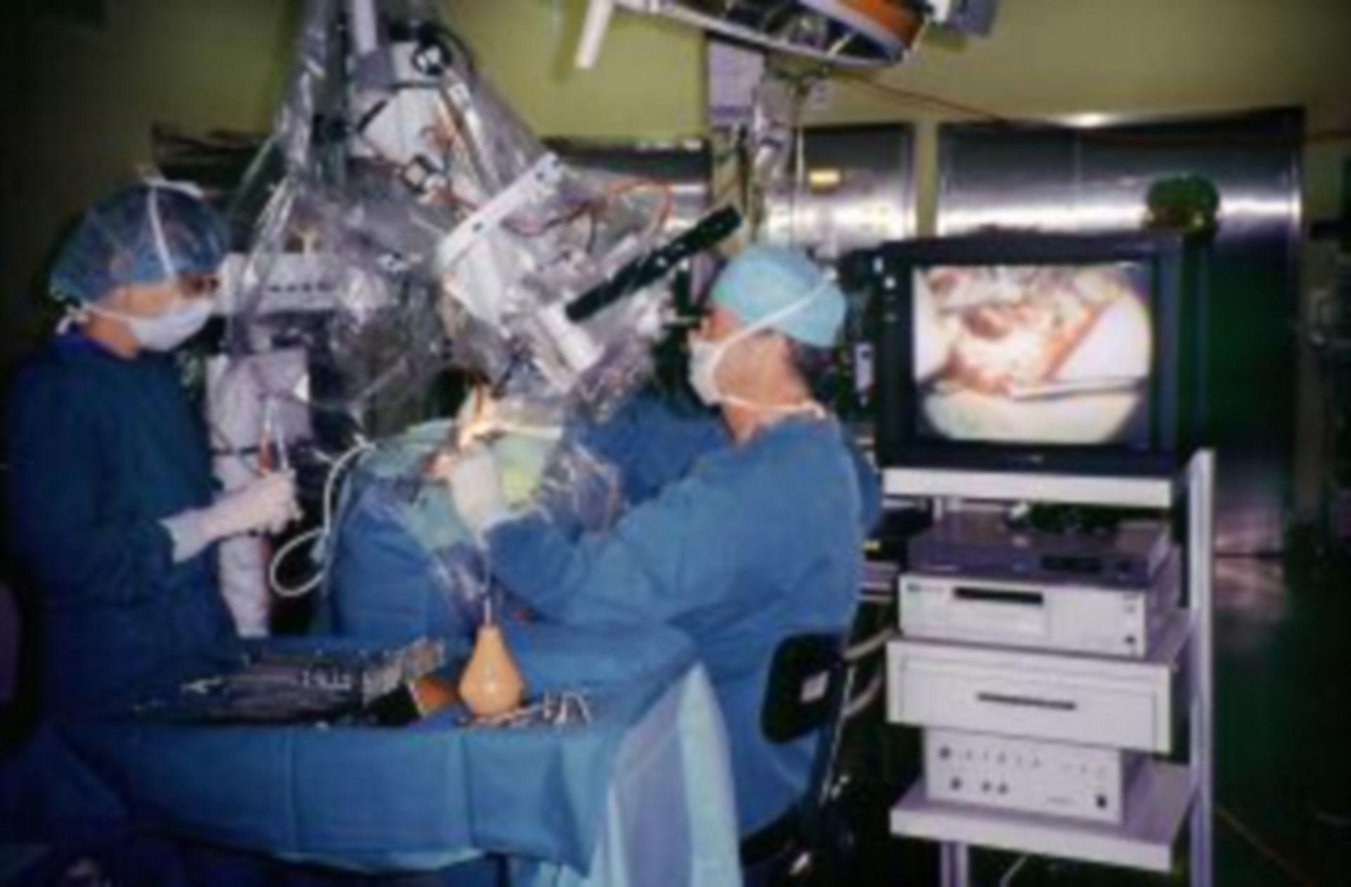 Microscopic middle ear surgery