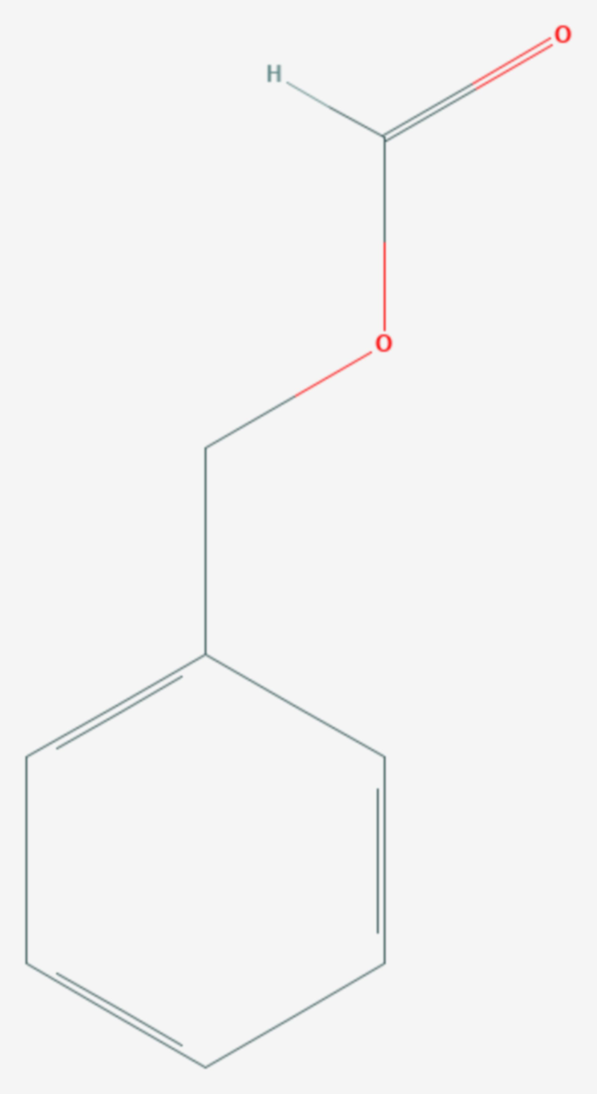 Ameisensäurebenzylester (Strukturformel)