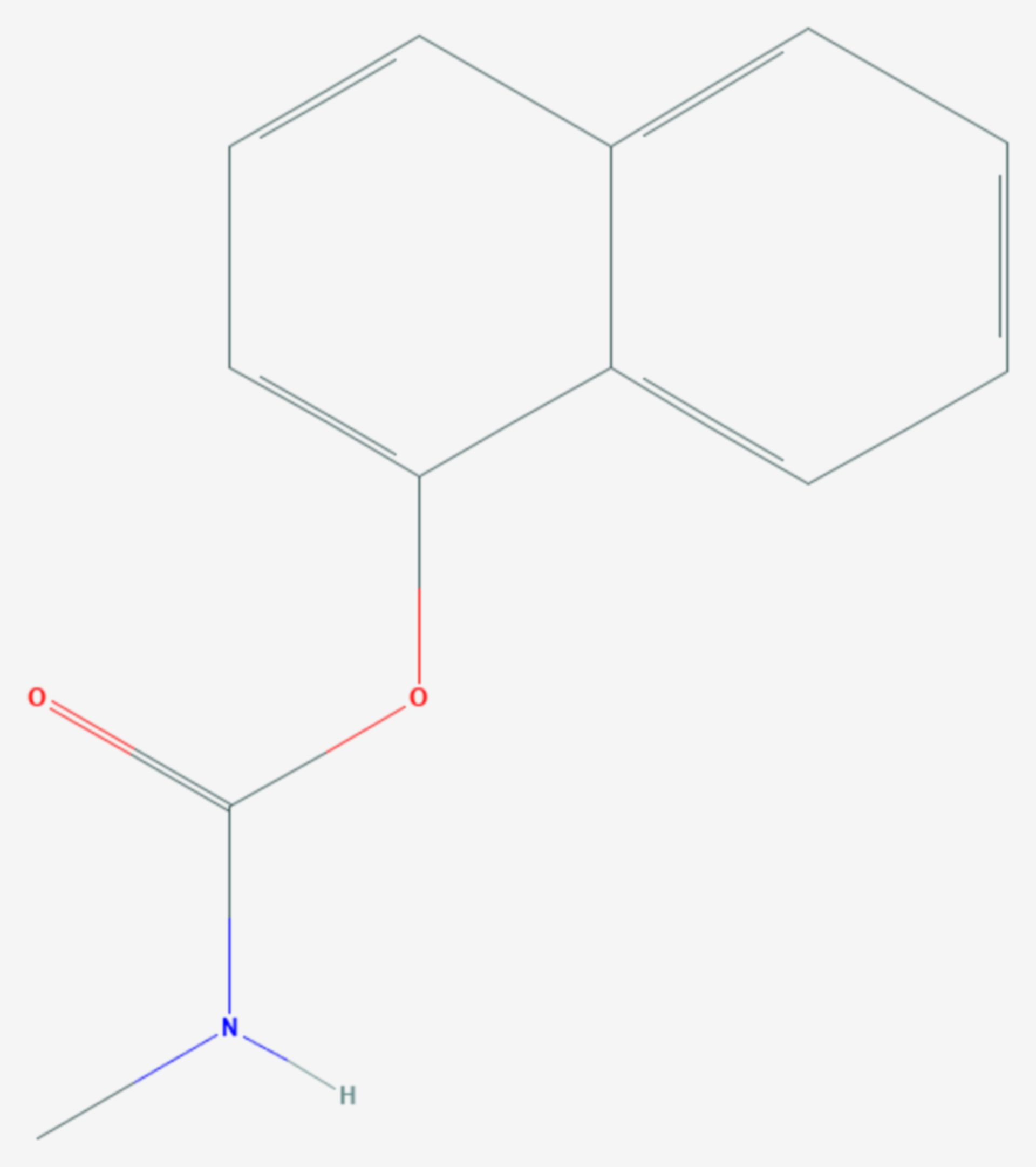 Carbaryl (Strukturformel)