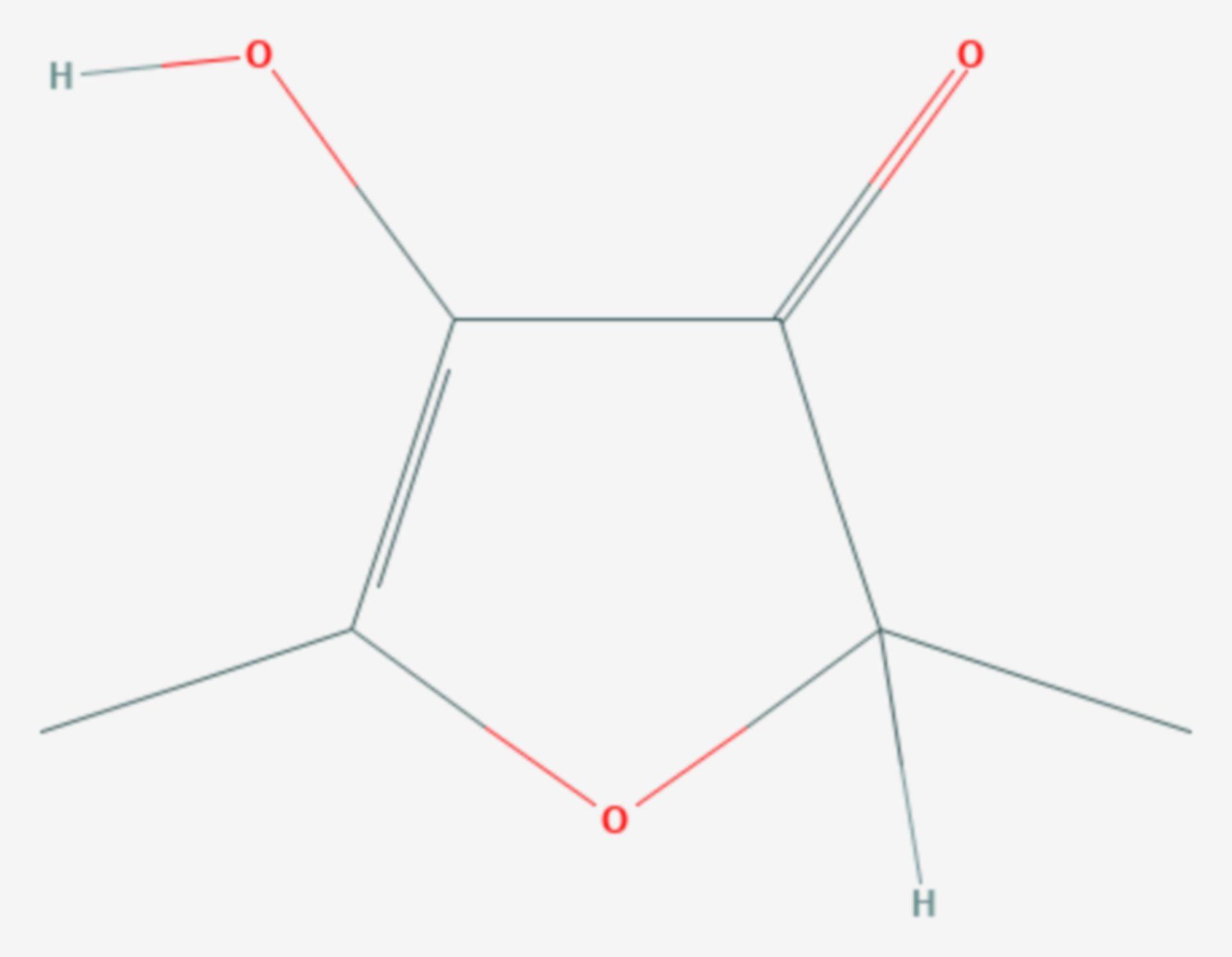Furaneol (Strukturformel)