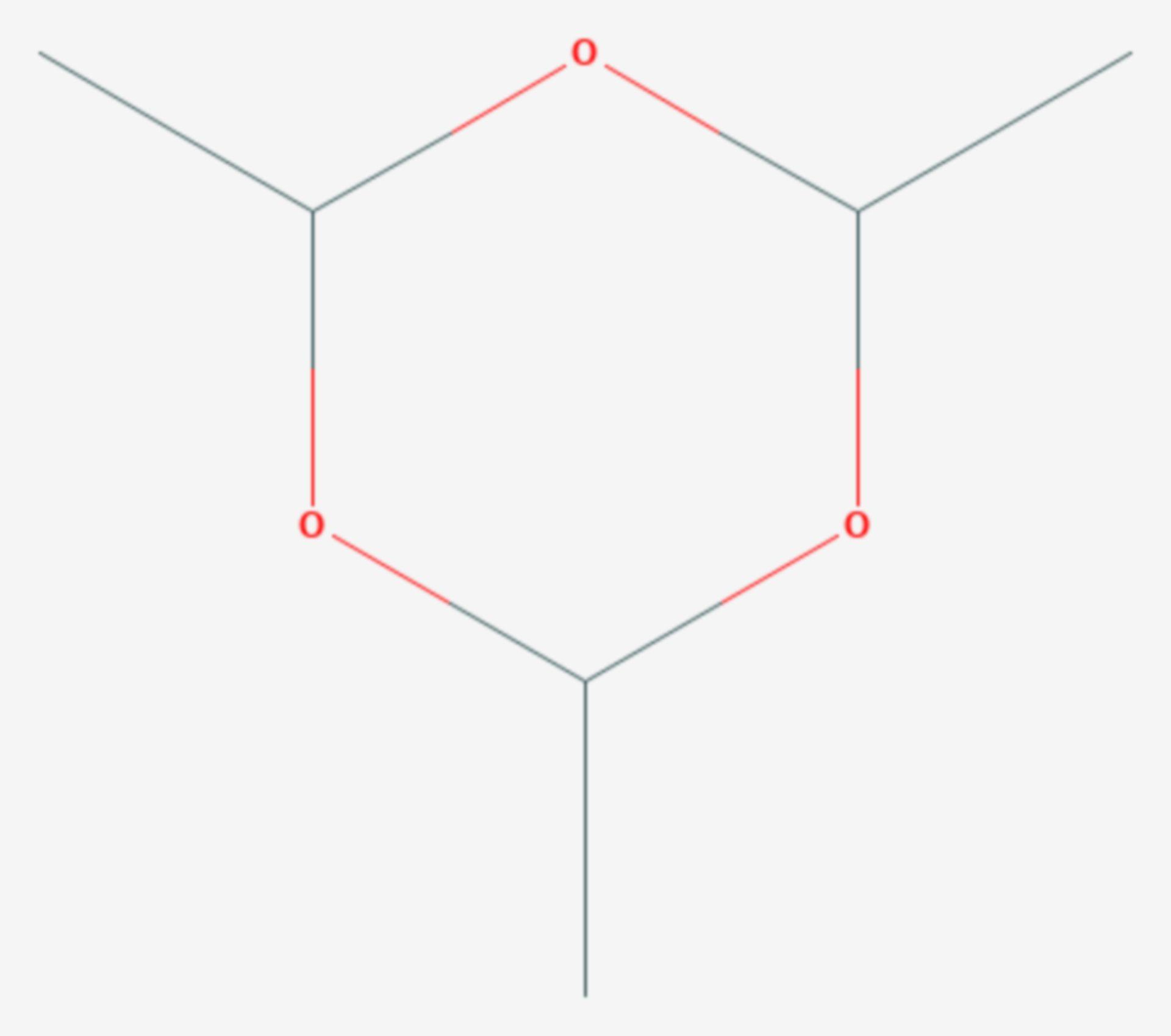 Paraldehyd (Strukturformel)