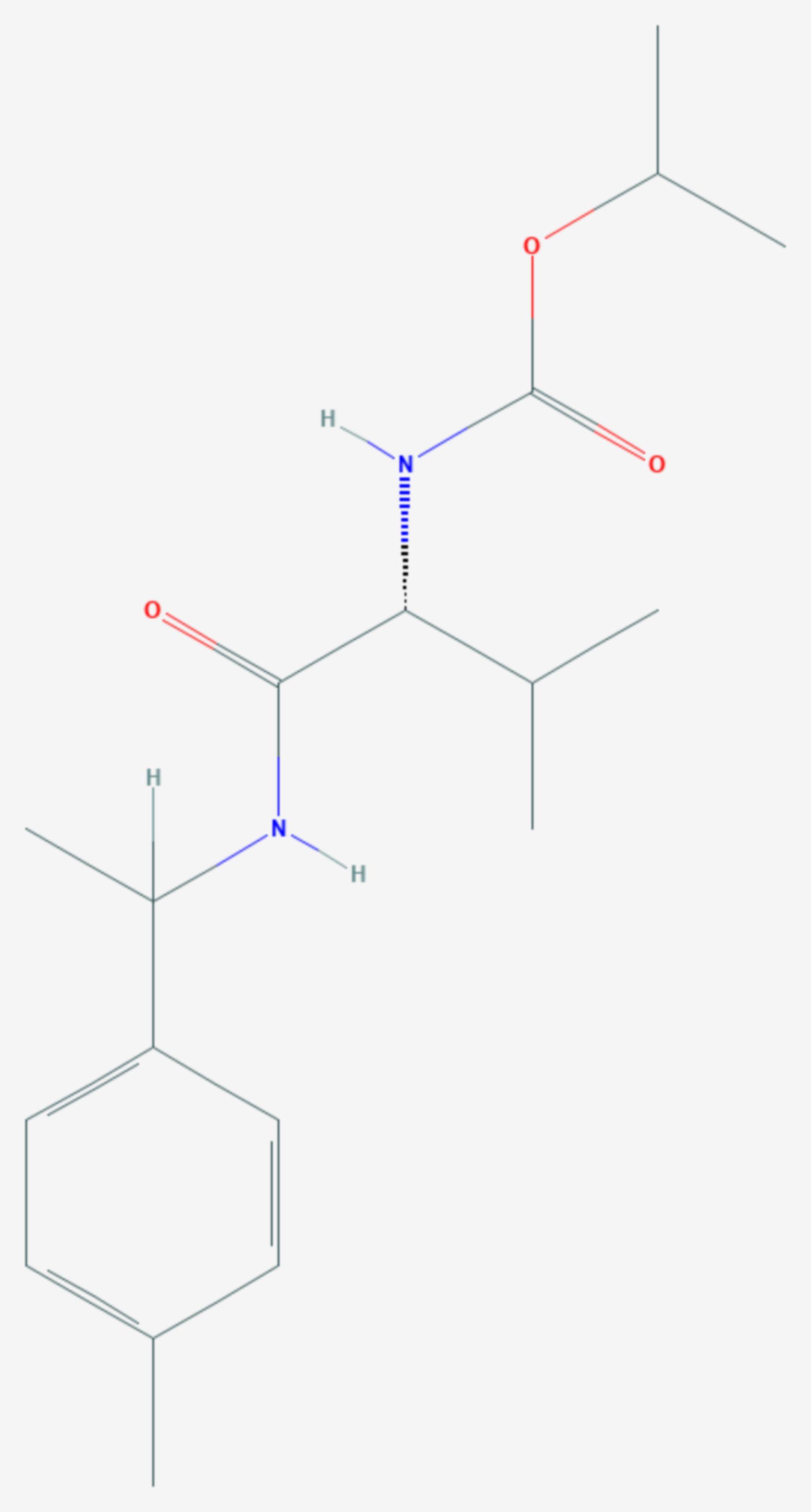 Iprovalicarb (Strukturformel)