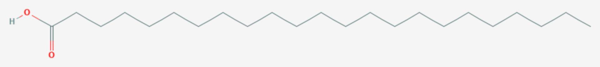 Tricosansäure (Strukturformel)