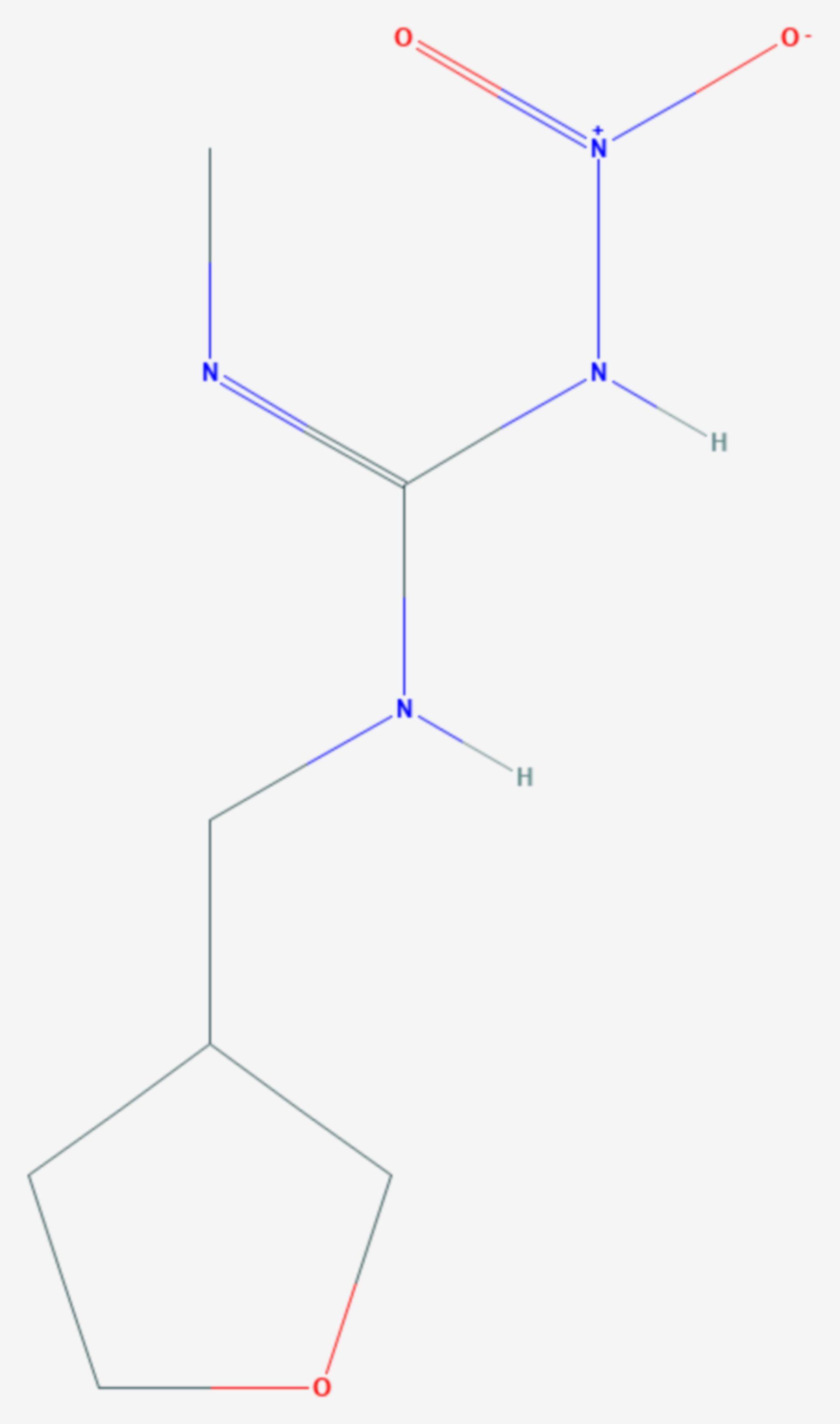 Dinotefuran (Strukturformel)