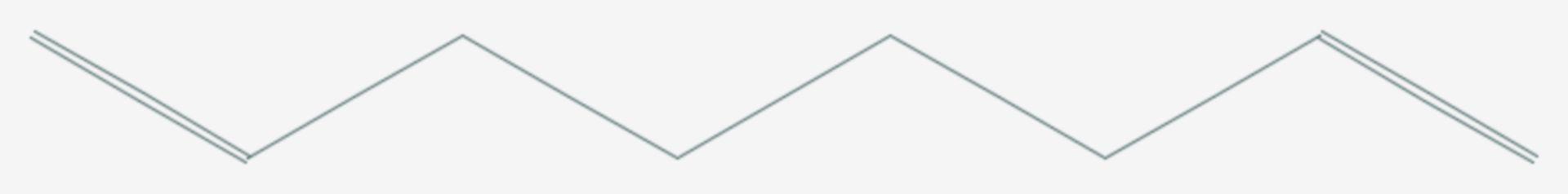 1,7-Octadien (Strukturformel)