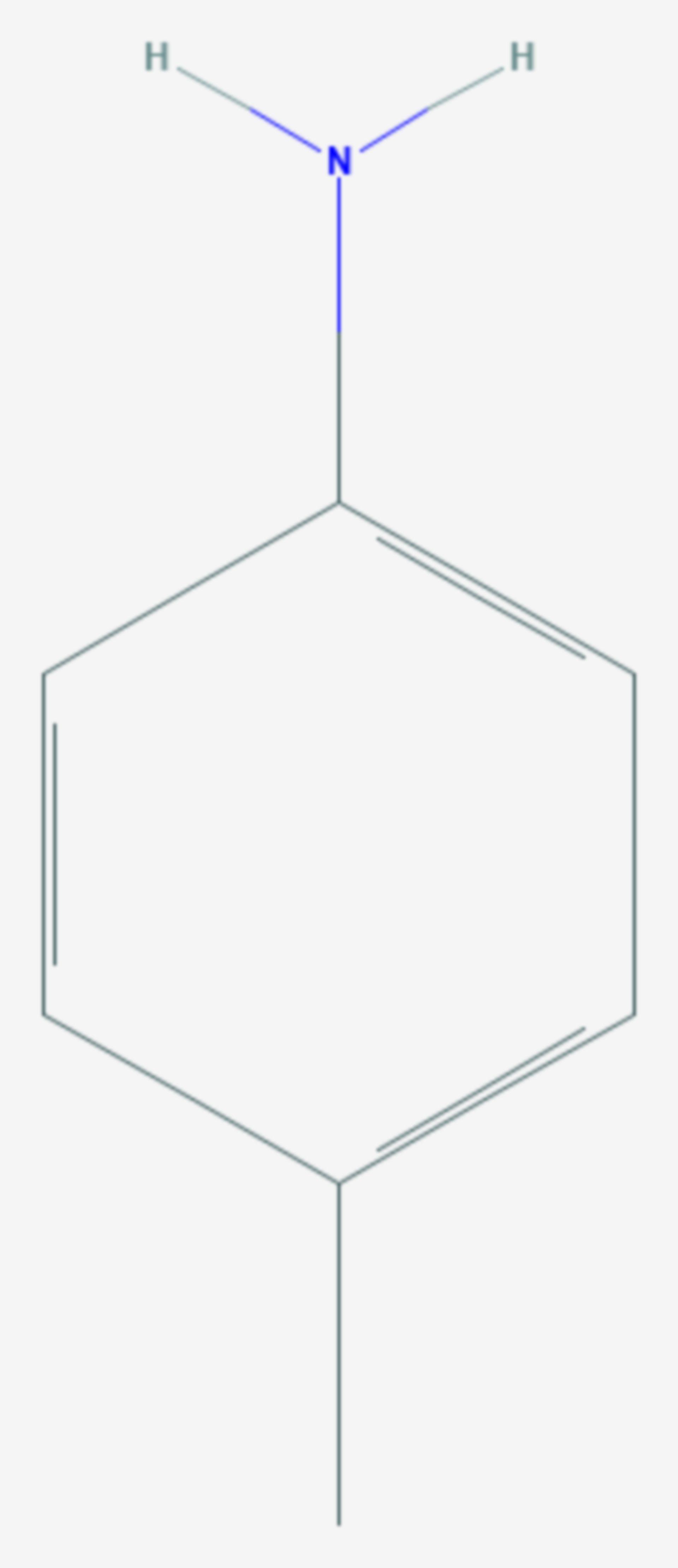 P-Toluidin (Strukturformel)