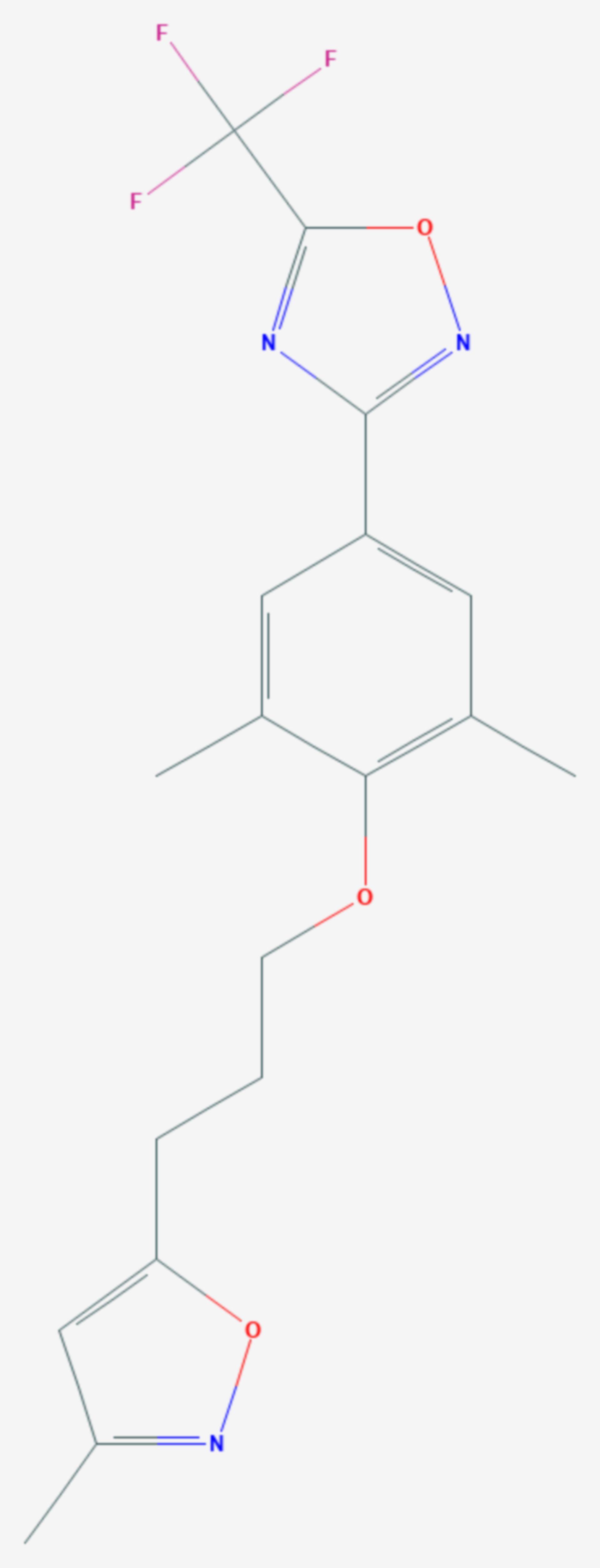 Pleconaril (Strukturformel)