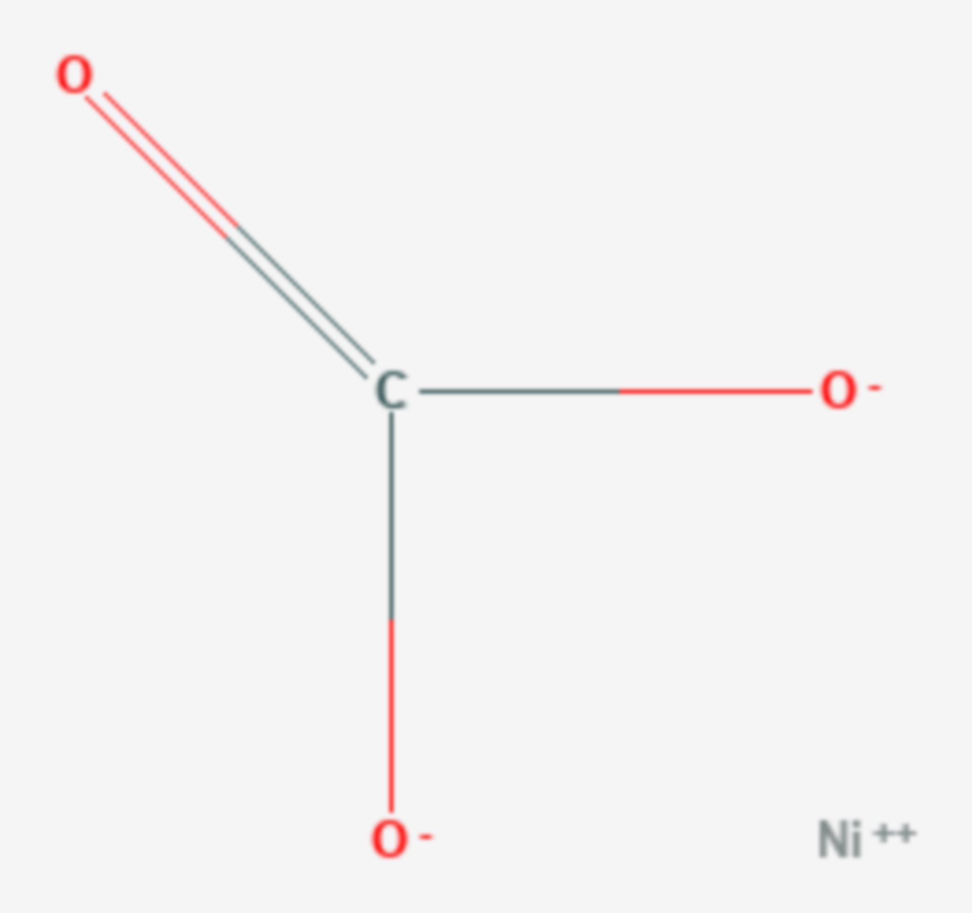 Nickel(II)-carbonat (Strukturformel)