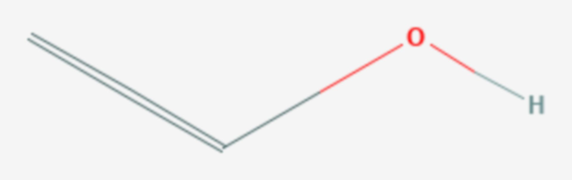Ethenol (Strukturformel)
