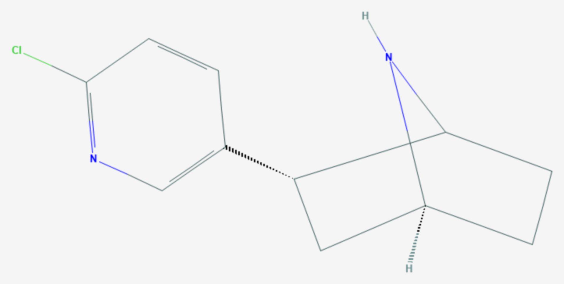 Epibatidin (Strukturformel)