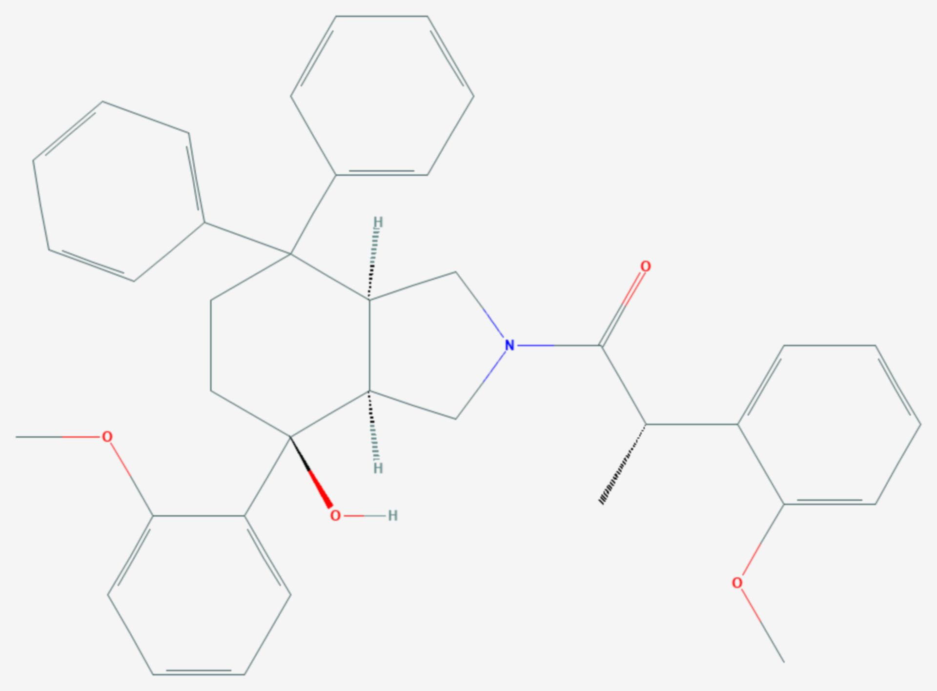 Dapitant (Strukturformel)