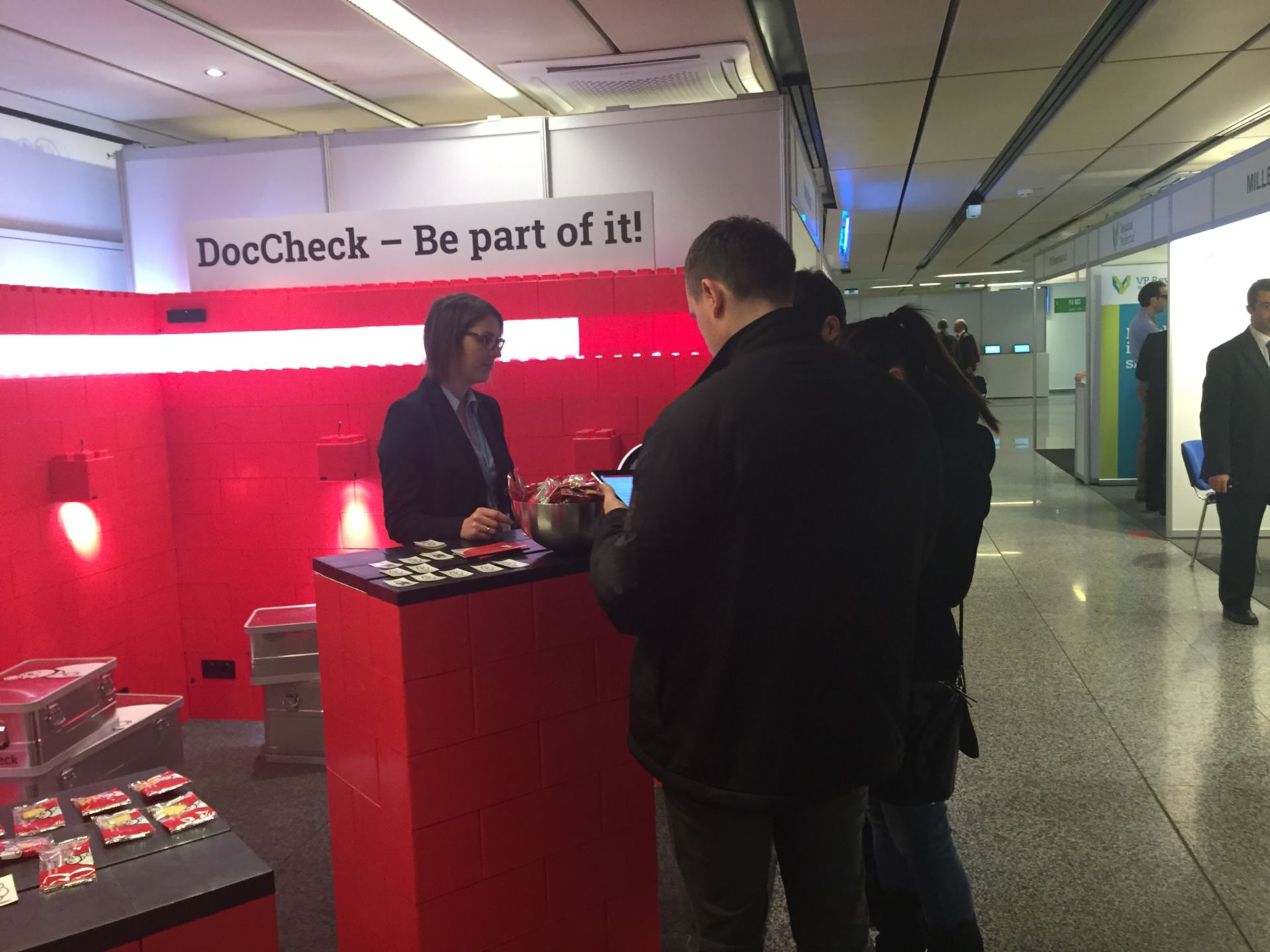 ECR 2016 - Day 3: We´re still working diligently at the DocCheck Booth (Gallery 613)!
