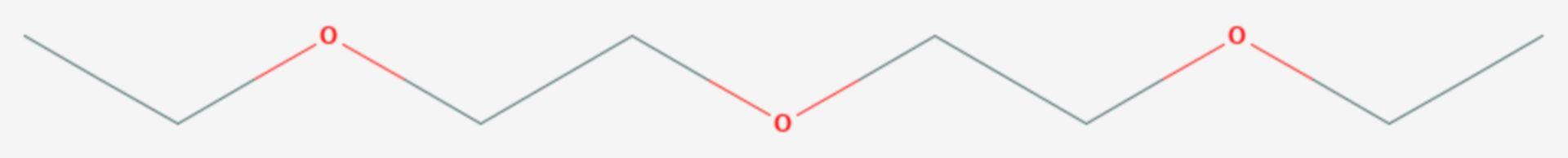 Diethylenglycoldiethylether (Strukturformel)
