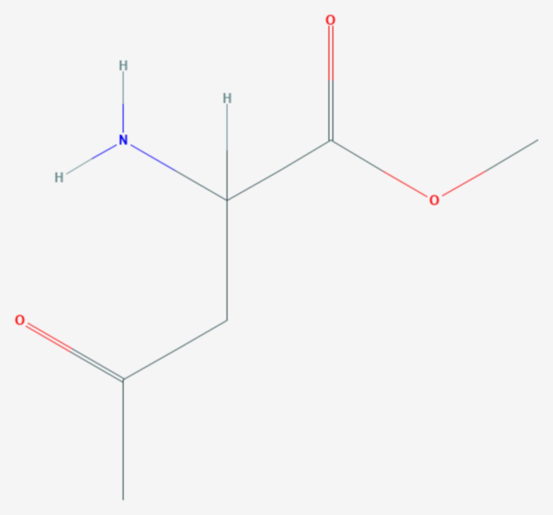 Methyl-5-amino-4-oxopentanoat (Strukturformel)