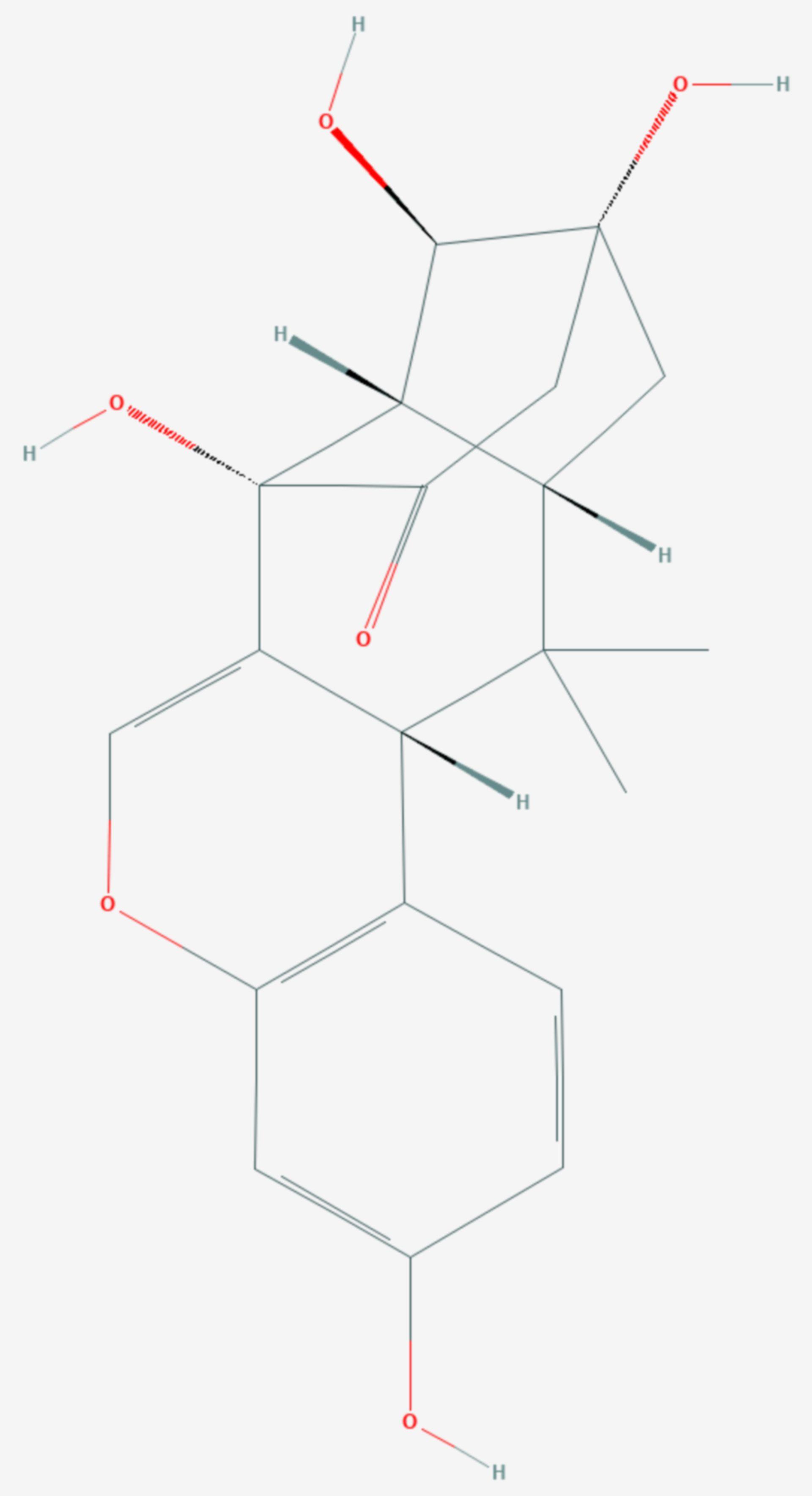 Miroestrol (Strukturformel)
