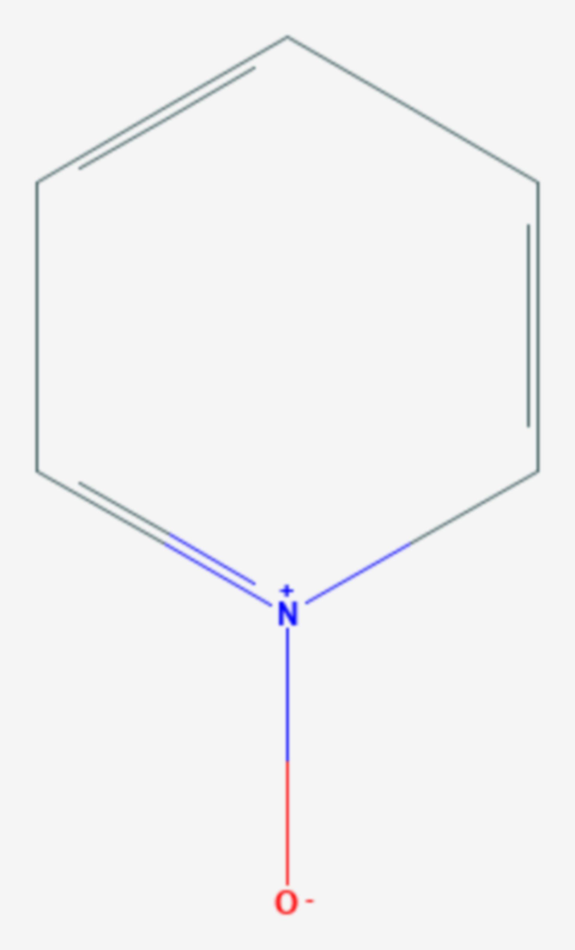 Pyridin-N-oxid (Strukturformel)
