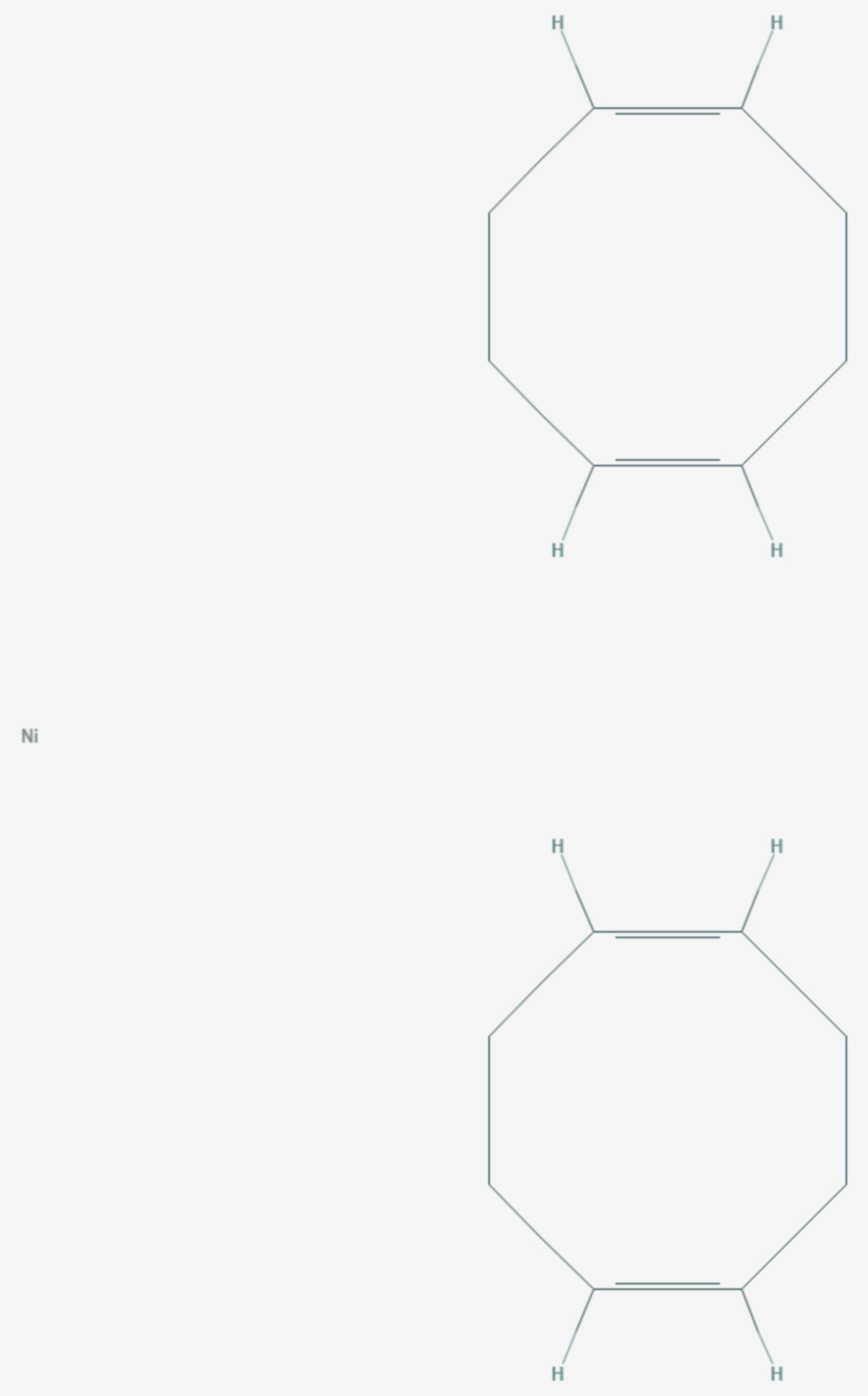 Bis(cycloocta-1,5-dien)nickel (Strukturformel)