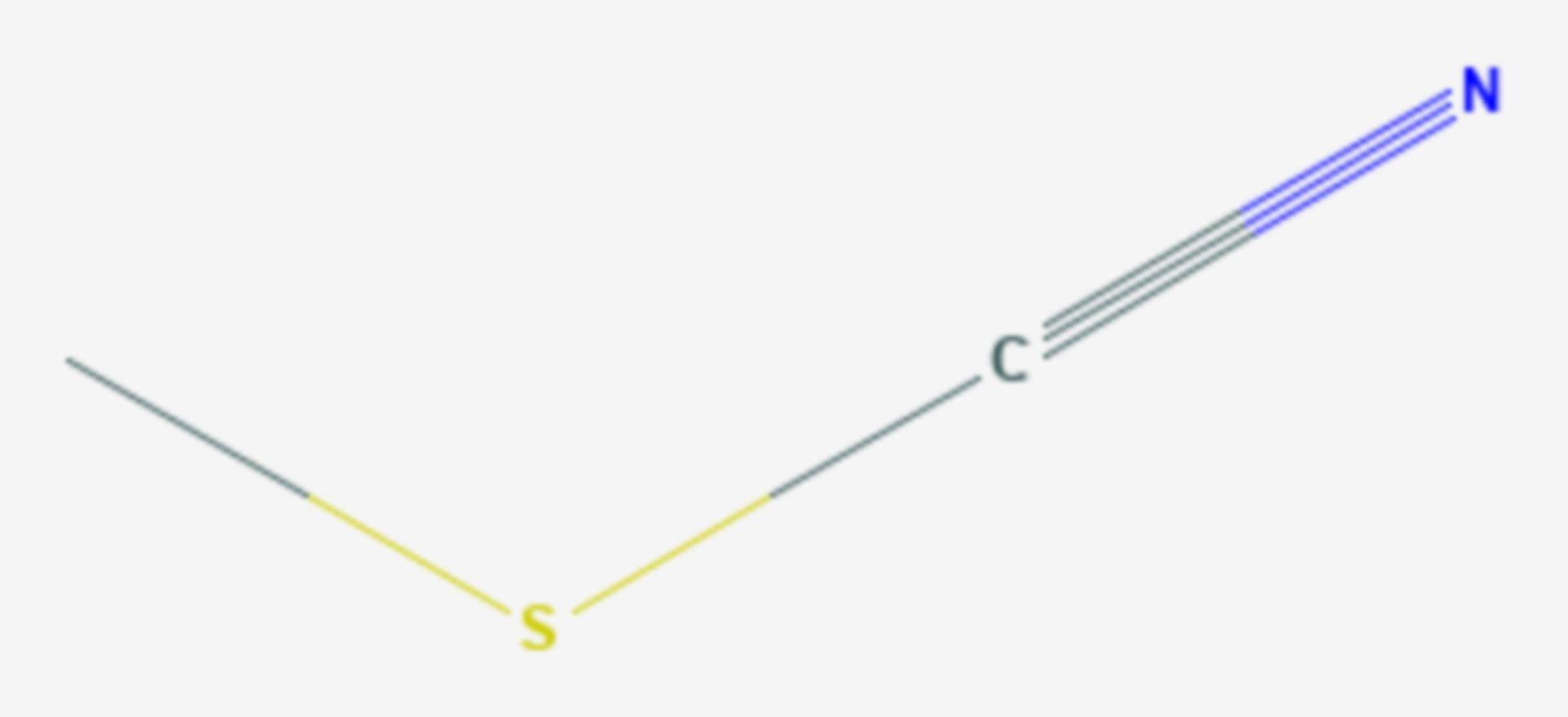 Thiocyansäuremethylester (Strukturformel)