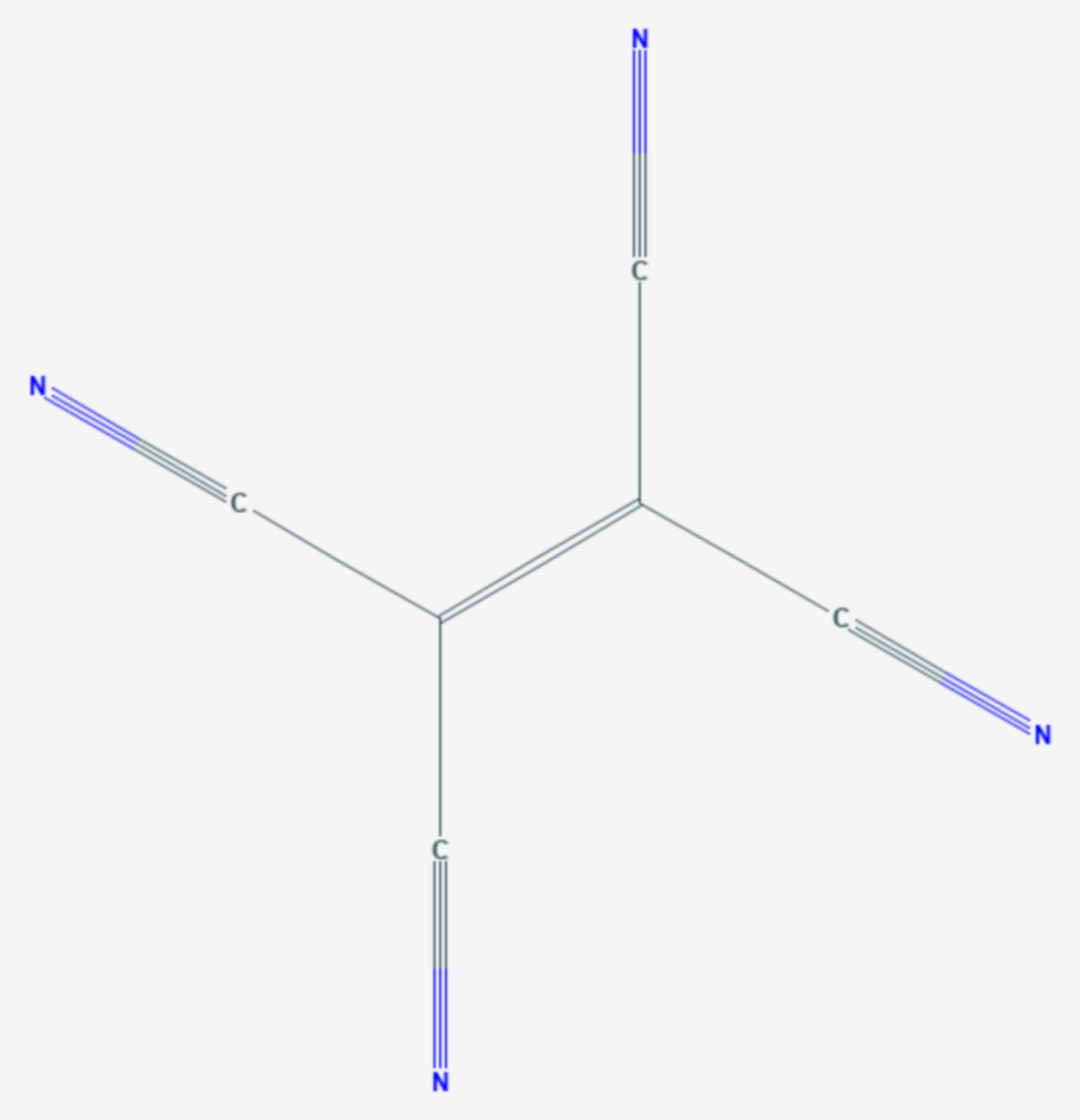Tetracyanoethylen (Strukturformel)